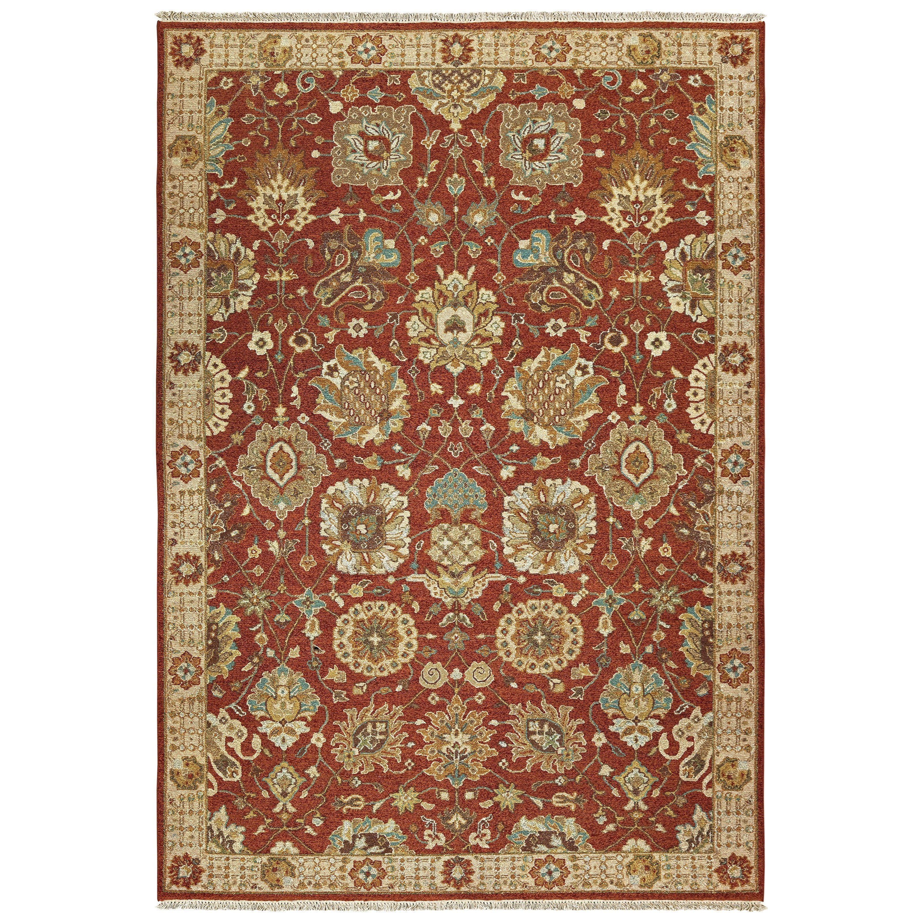 Angora 8' X 10' Rectangle Rug by Oriental Weavers at Steger's Furniture
