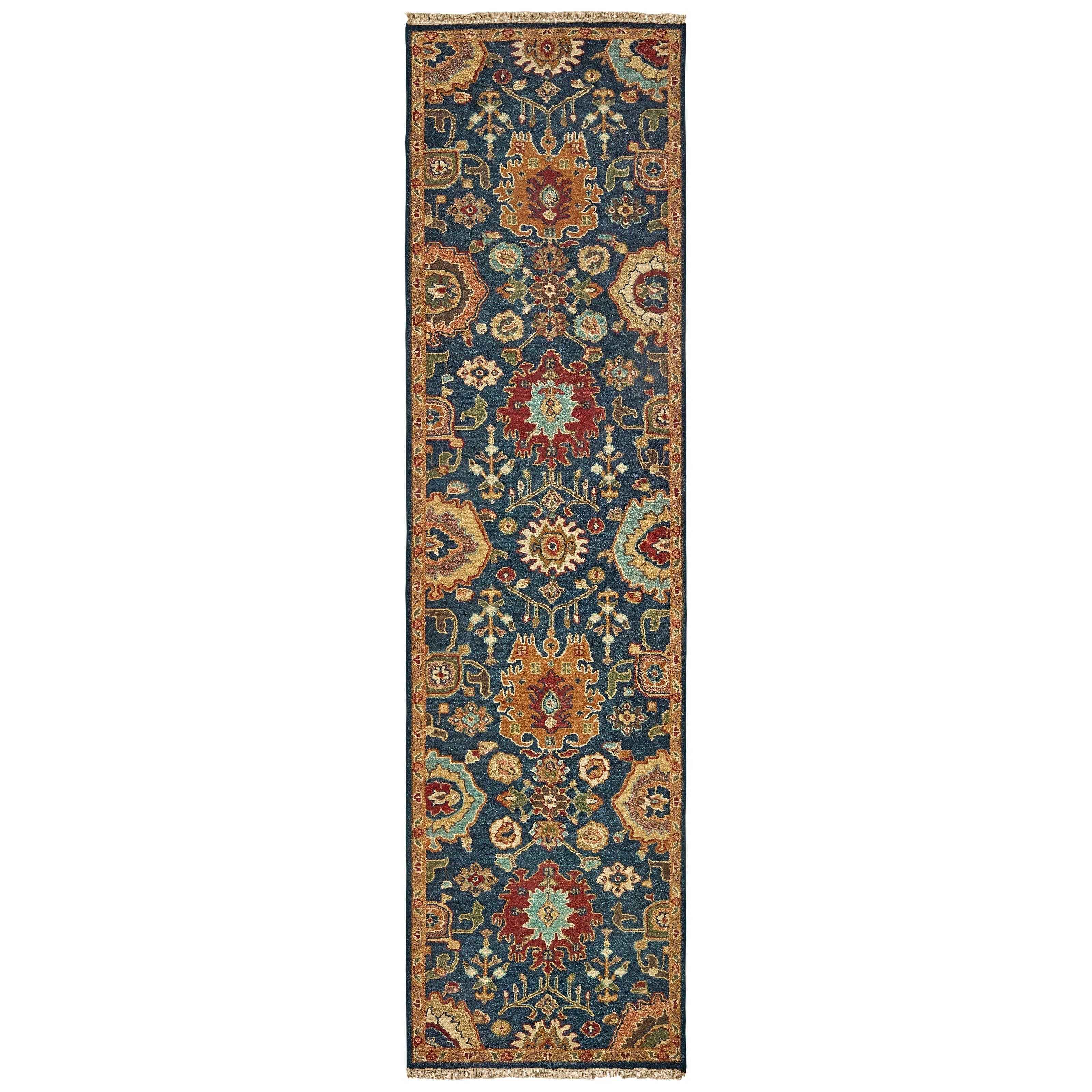 "Angora 2' 6"" X 10' Runner Rug by Oriental Weavers at Steger's Furniture"
