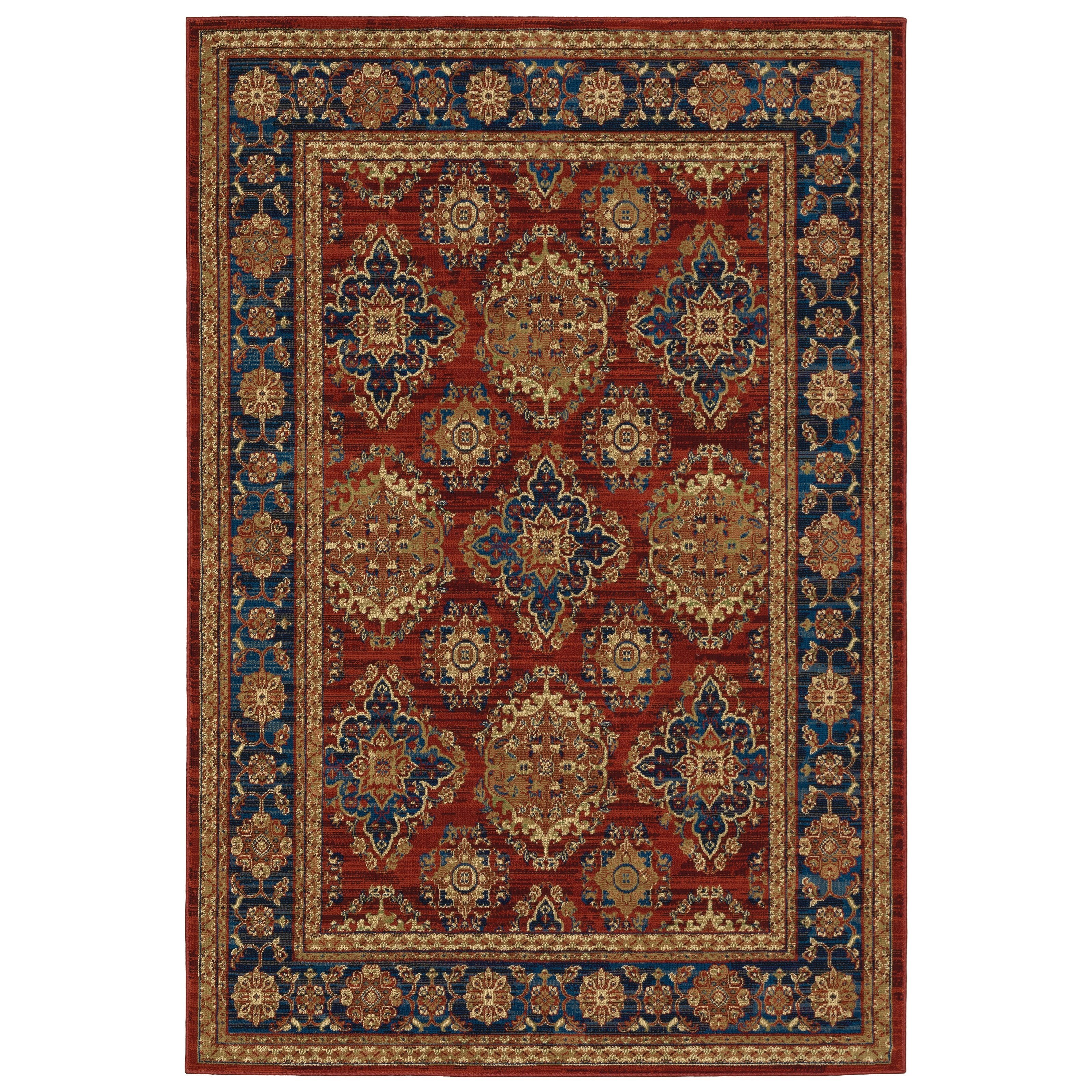 "Ankara 9'10"" X 12'10"" Rectangle Rug by Oriental Weavers at Steger's Furniture"