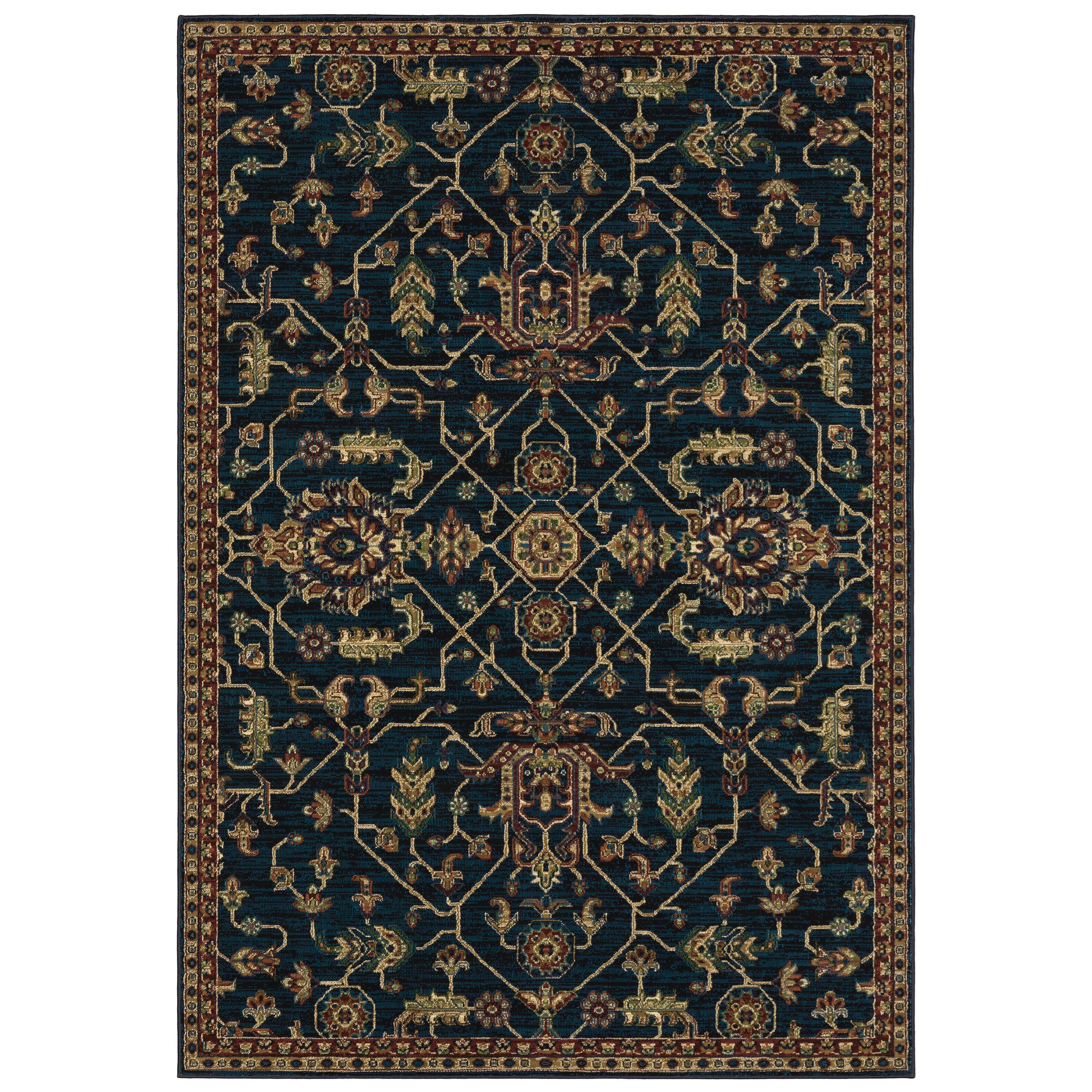 "Ankara 7'10"" X 10'10"" Rectangle Rug by Oriental Weavers at Steger's Furniture"