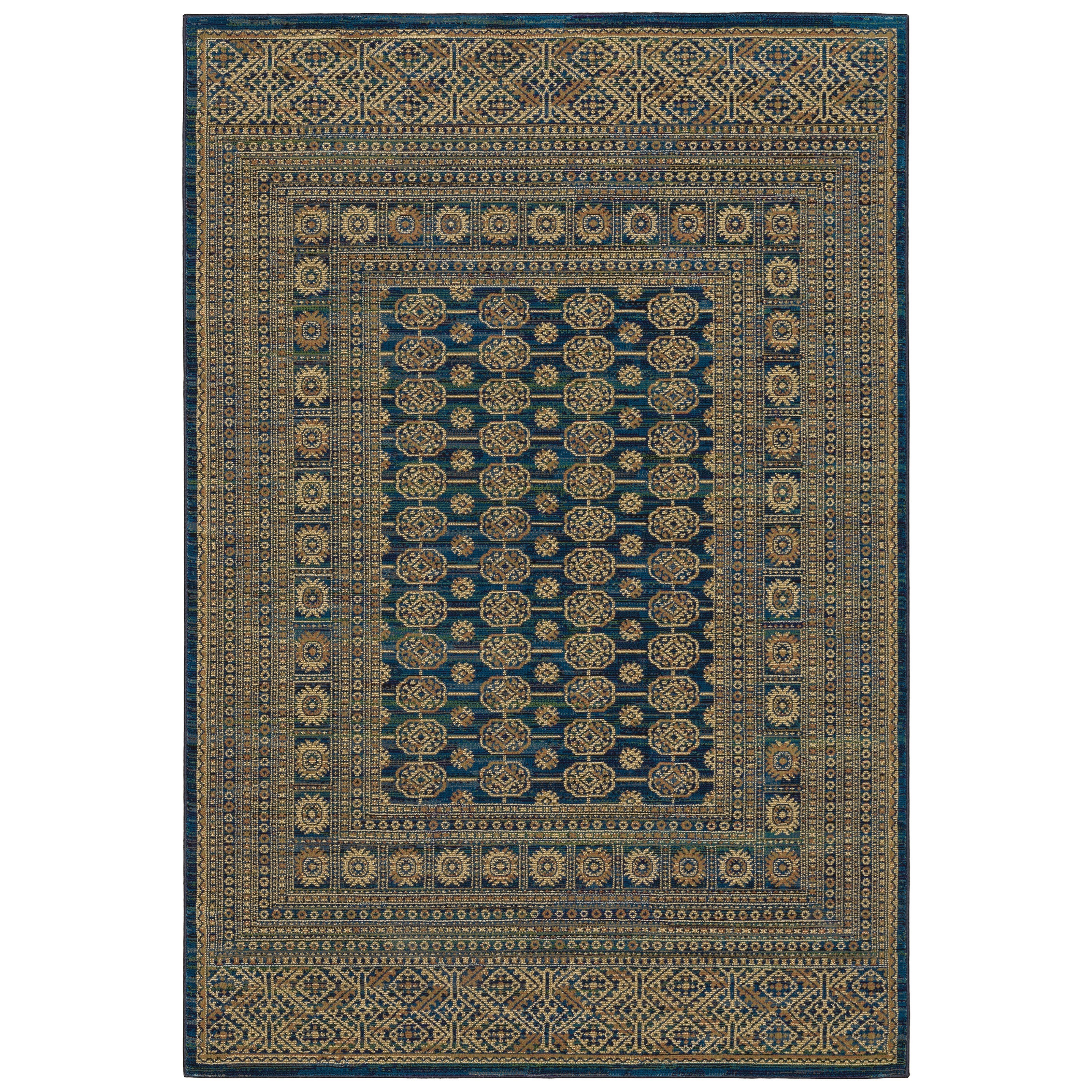 "Ankara 6' 7"" X  9' 6"" Rectangle Rug by Oriental Weavers at Hudson's Furniture"