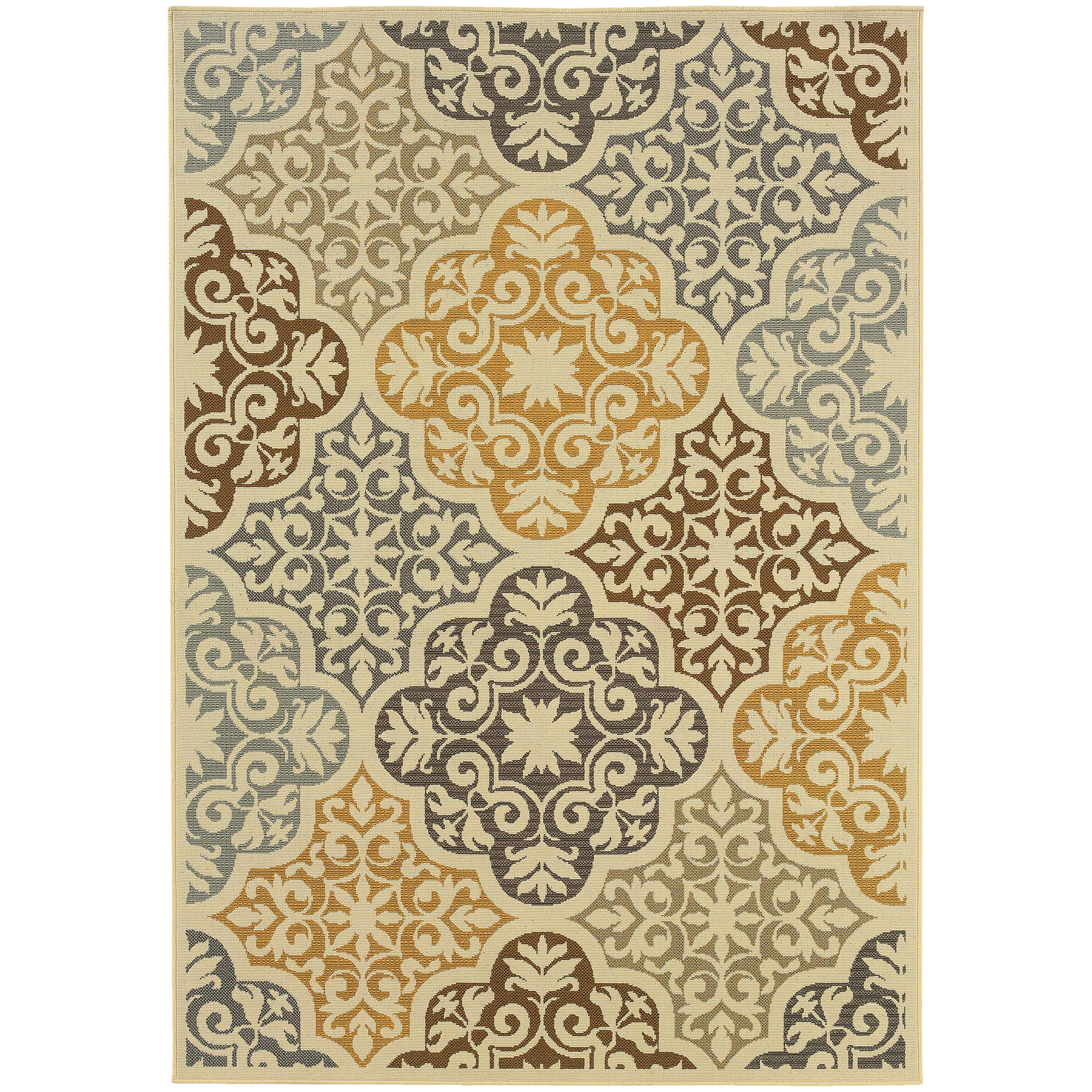 "Bali 3' 7"" X  5' 6"" Rug by Oriental Weavers at Dunk & Bright Furniture"