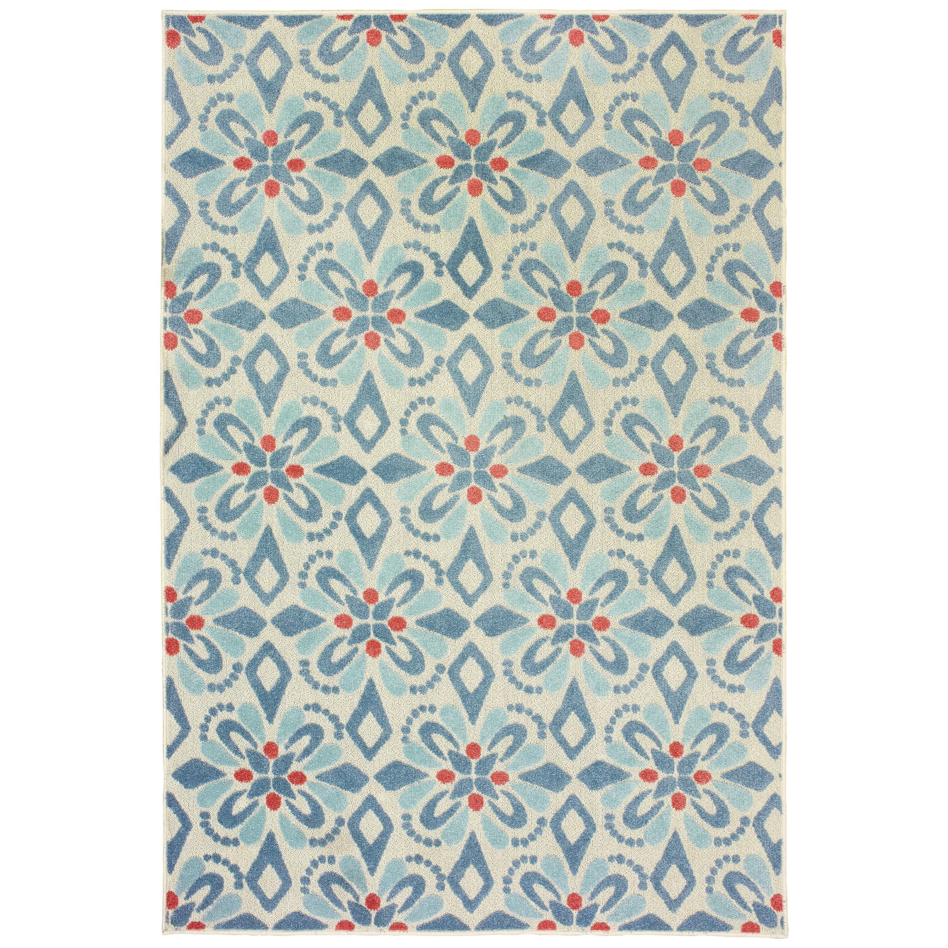 "Barbados 5' 3"" X 7' 6"" Rug by Oriental Weavers at HomeWorld Furniture"
