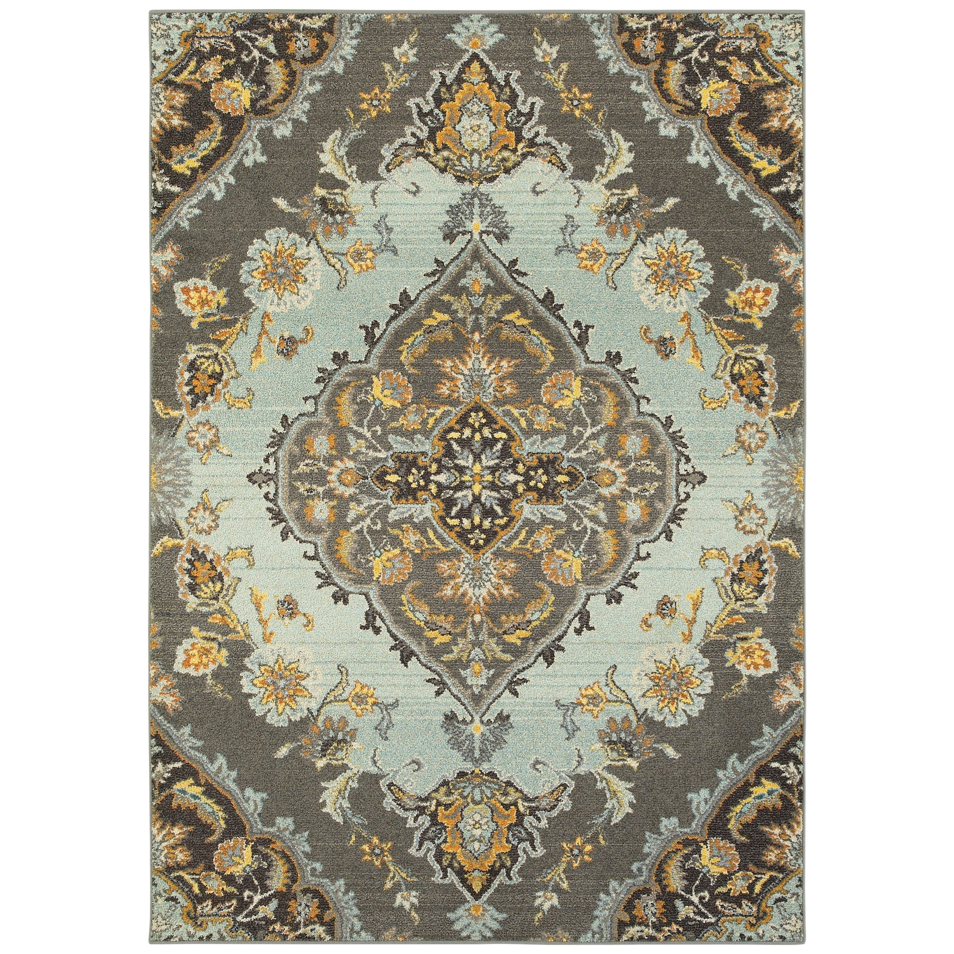 """Bohemian 5' 3"""" X  7' 6"""" Rectangle Rug by Oriental Weavers at Steger's Furniture"""