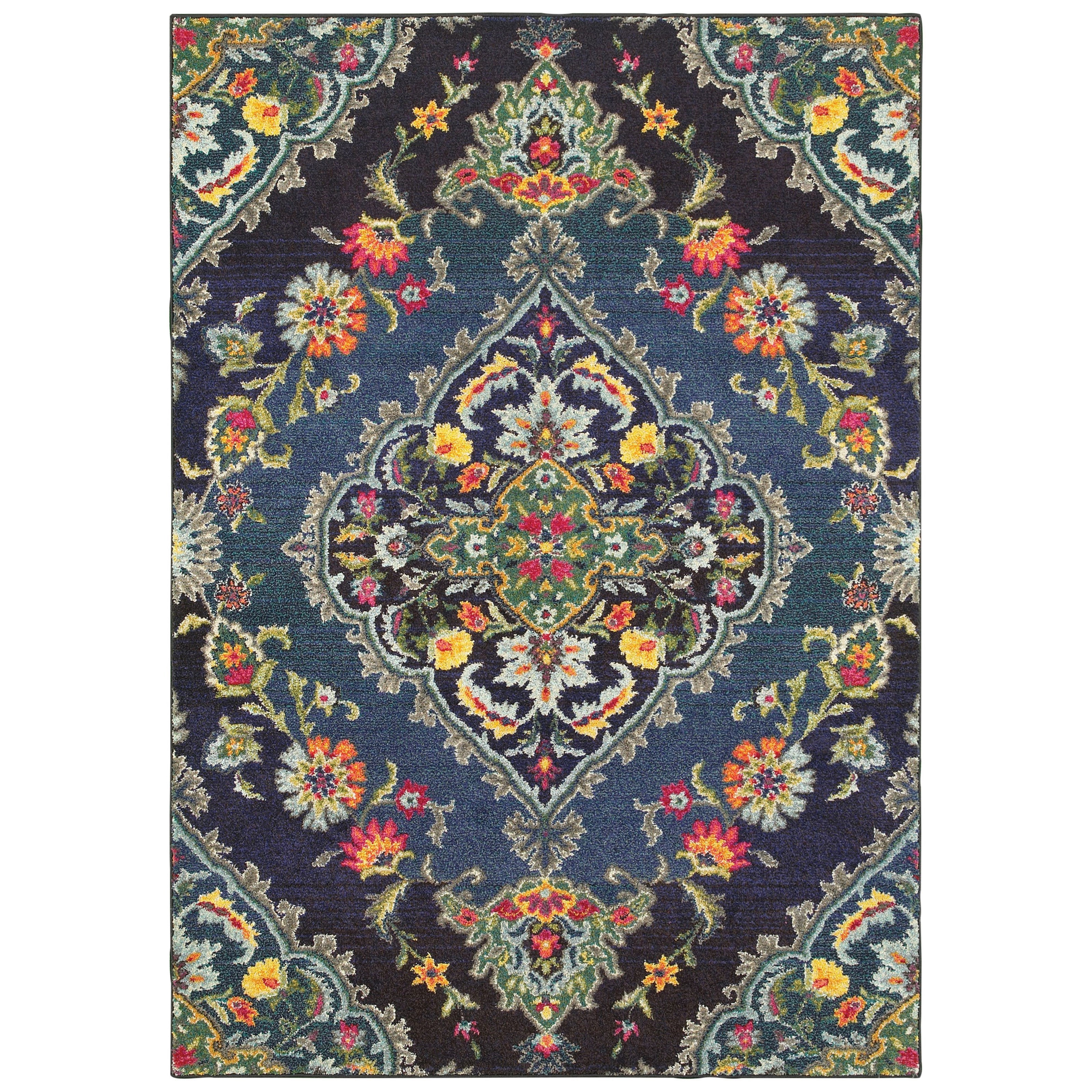 """Bohemian 5' 3"""" X  7' 6"""" Rectangle Rug by Oriental Weavers at Godby Home Furnishings"""