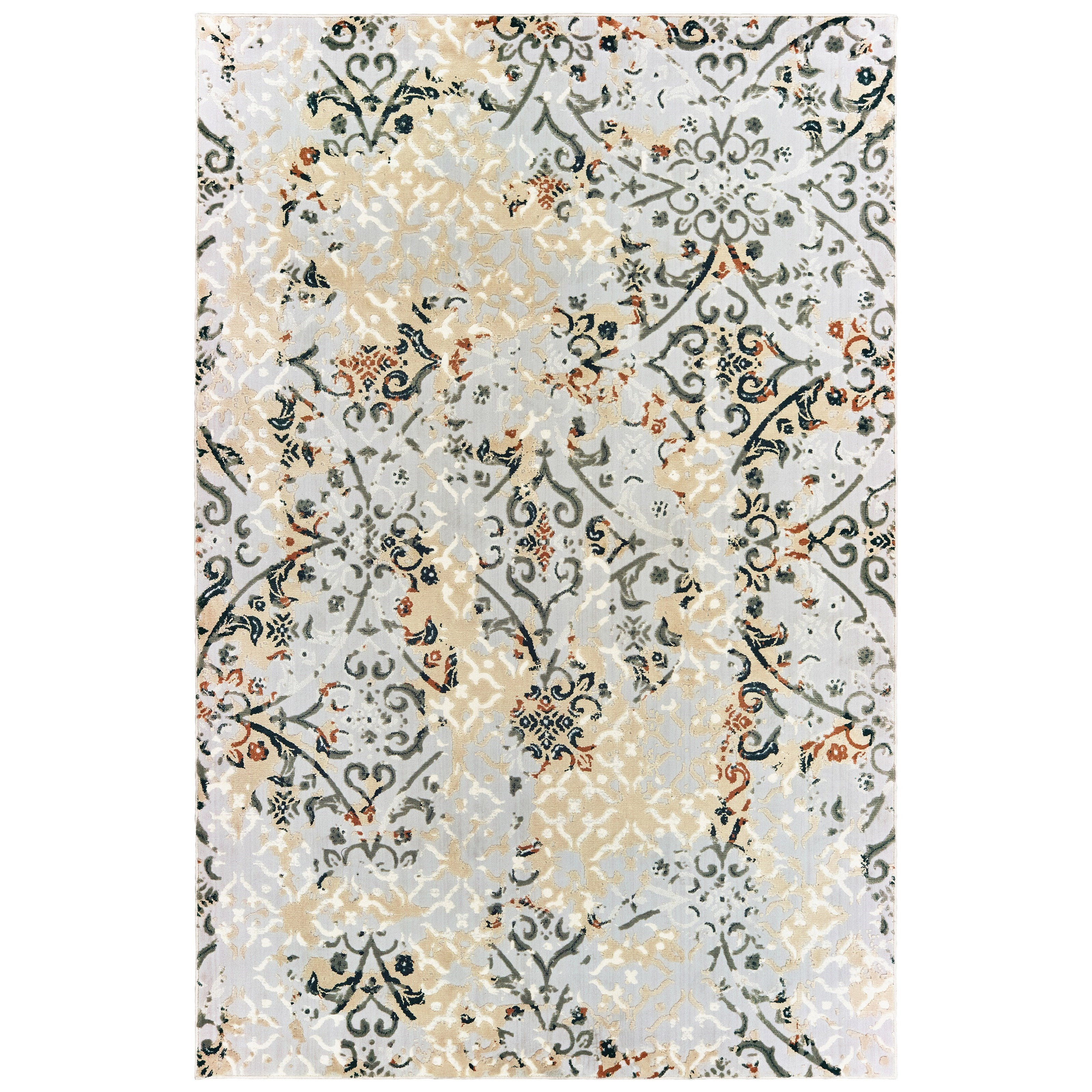 "Bowen 9'10"" X 12'10"" Rectangle Rug by Oriental Weavers at Jacksonville Furniture Mart"