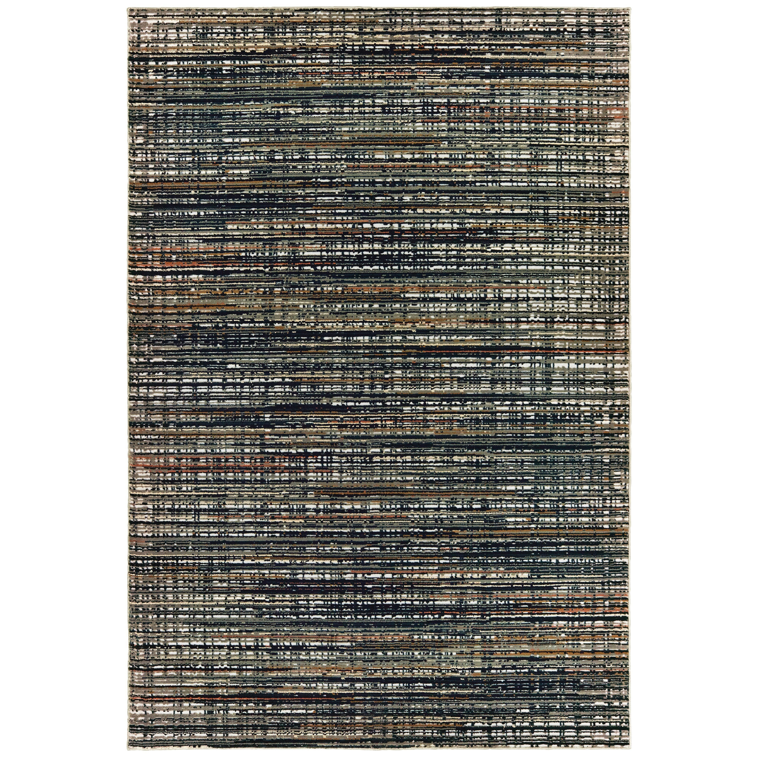 """Bowen 5' 3"""" X  7' 6"""" Rectangle Rug by Oriental Weavers at Miller Waldrop Furniture and Decor"""