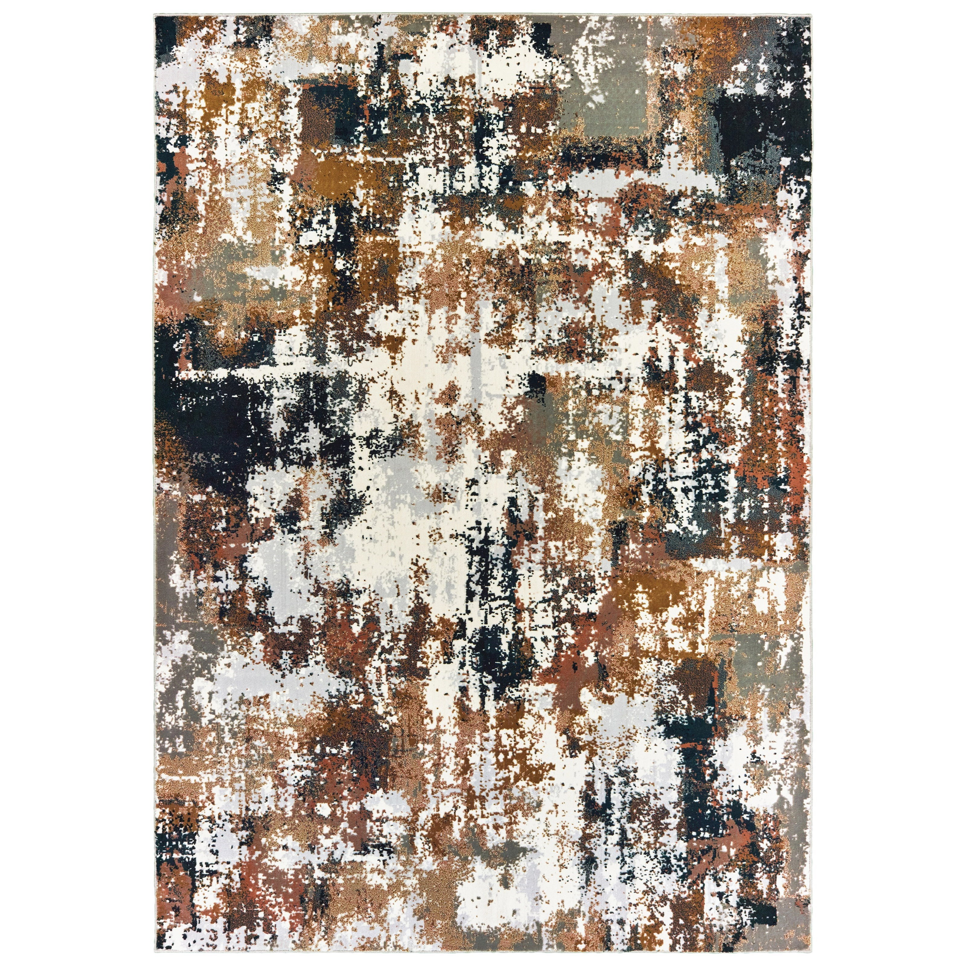 """Bowen 7'10"""" X 10'10"""" Rectangle Rug by Oriental Weavers at Miller Waldrop Furniture and Decor"""