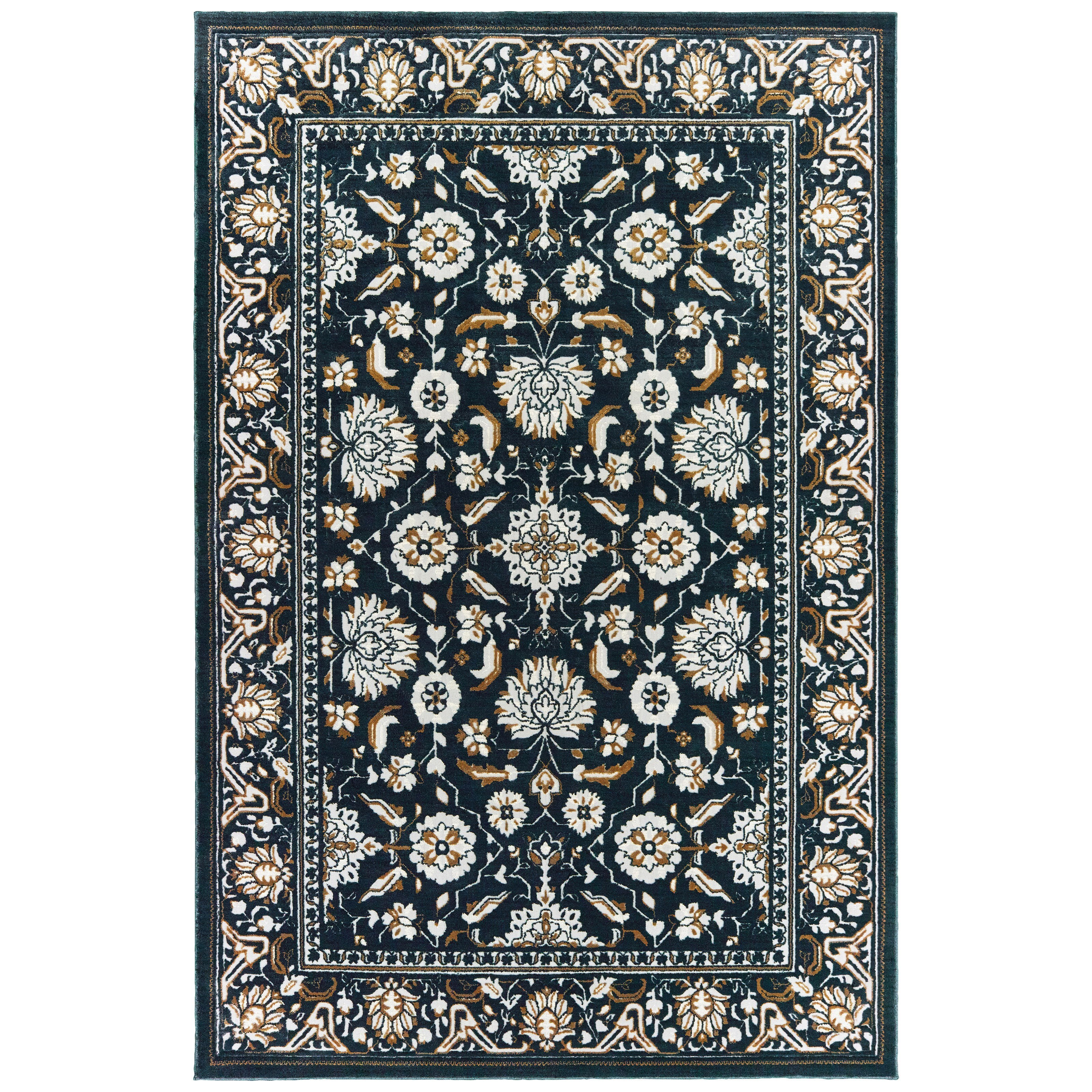 """Bowen 6' 7"""" X  9' 6"""" Rectangle Rug by Oriental Weavers at Steger's Furniture"""