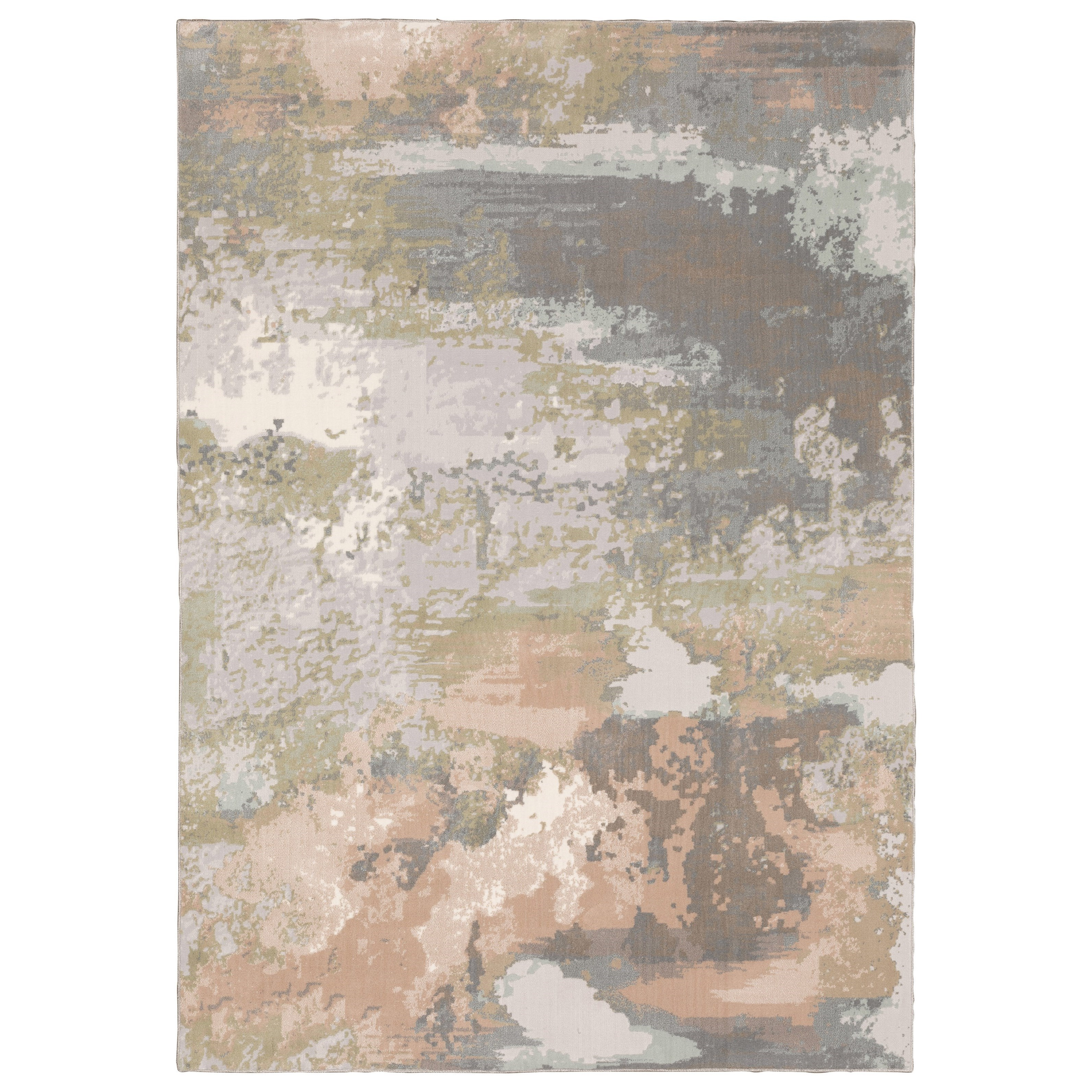 "Capistrano 5' 3"" X  7' 6"" Rectangle Rug by Oriental Weavers at Novello Home Furnishings"