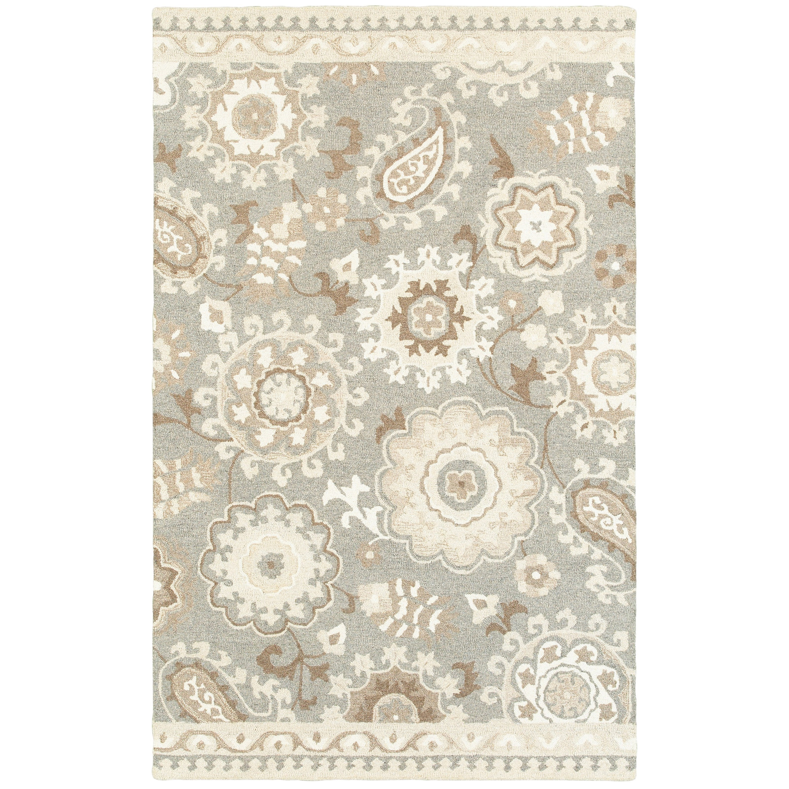 """Craft 5' 0"""" X  8' 0"""" Rectangle Rug by Oriental Weavers at Darvin Furniture"""