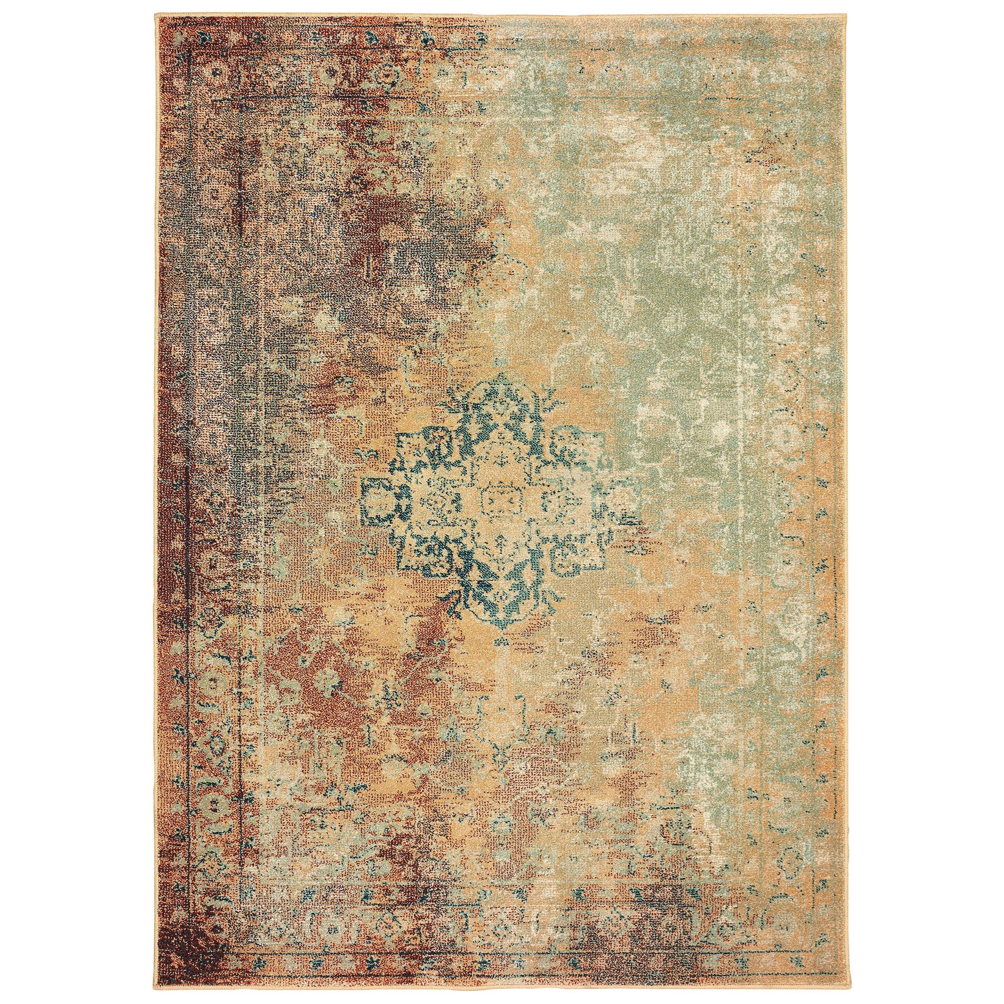 """Dawson 6' 7"""" X  9' 6"""" Rectangle Rug by Oriental Weavers at Steger's Furniture"""