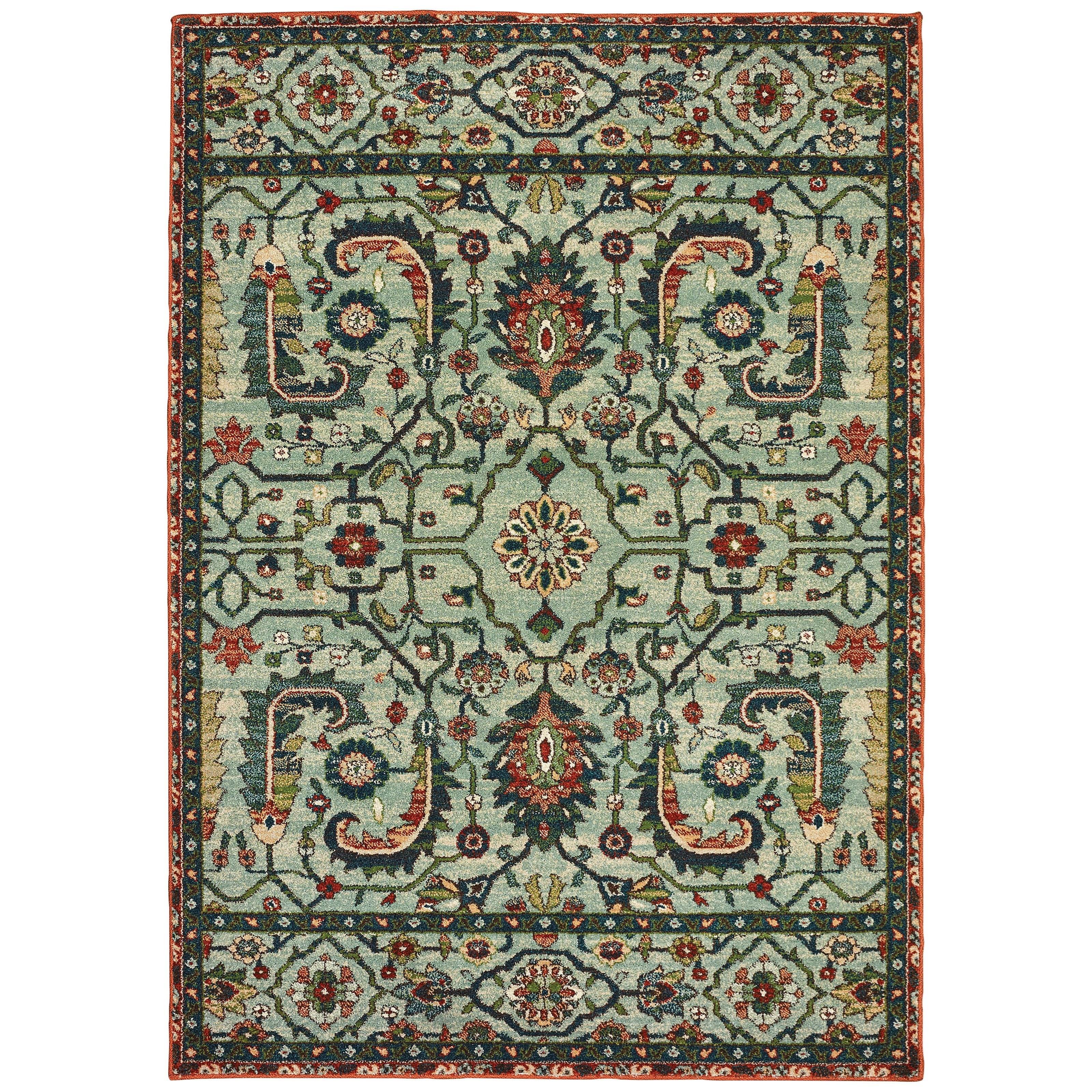 "Dawson 7'10"" X 10'10"" Rectangle Rug by Oriental Weavers at Lucas Furniture & Mattress"
