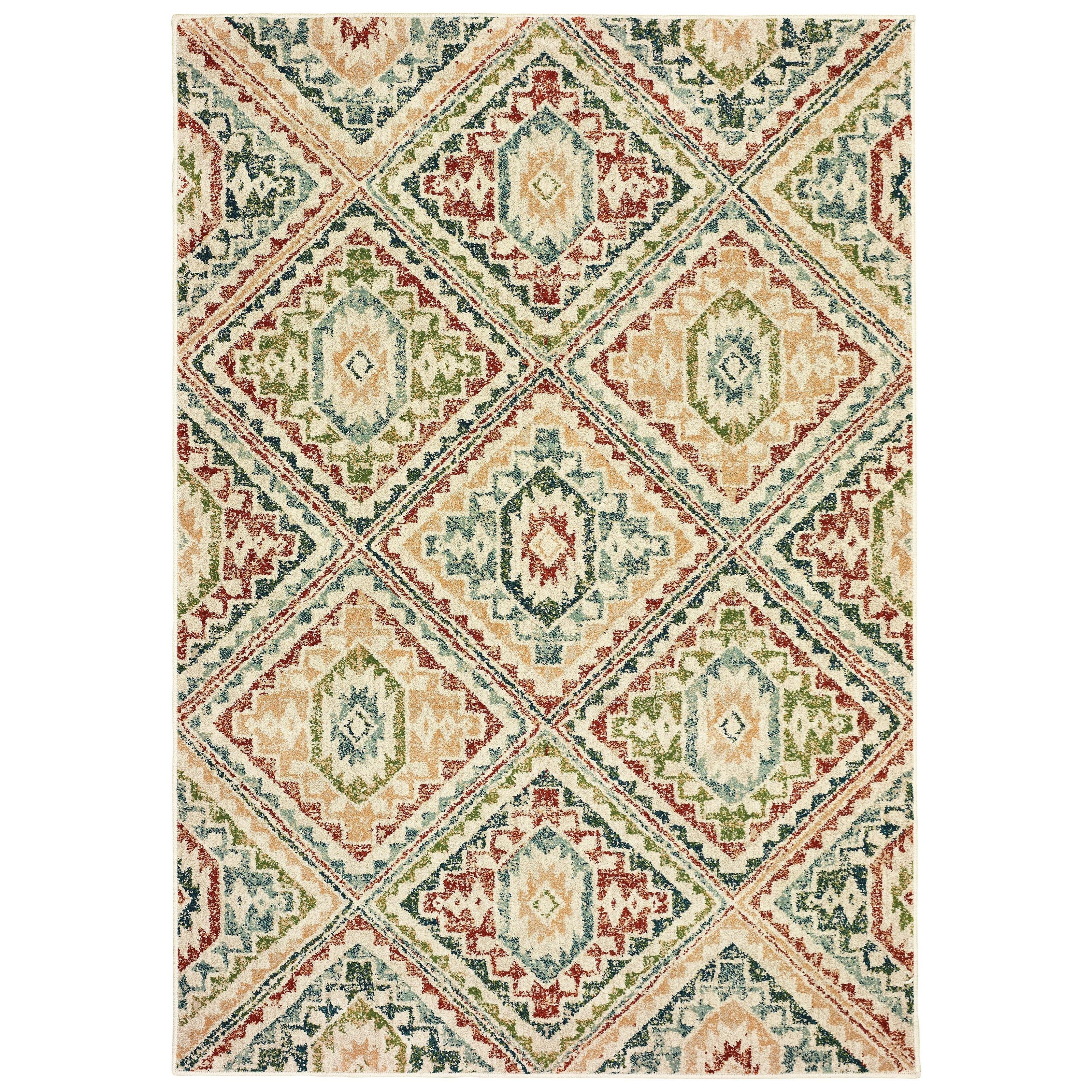 "Dawson 5' 3"" X  7' 6"" Rectangle Rug by Oriental Weavers at Novello Home Furnishings"