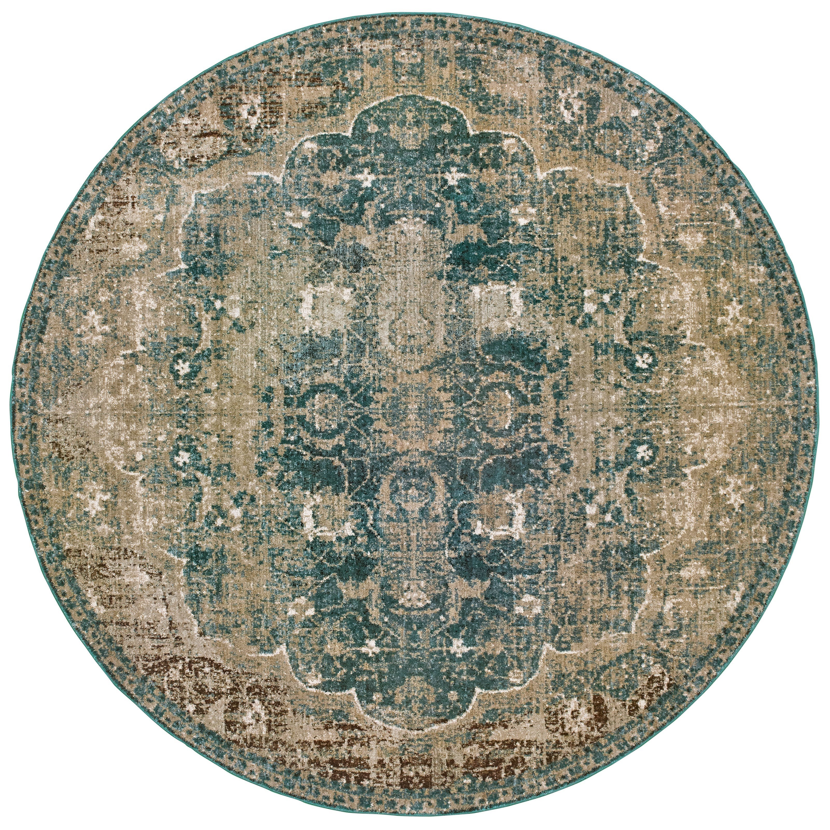 """Empire 7'10"""" Round Rug by Oriental Weavers at Godby Home Furnishings"""