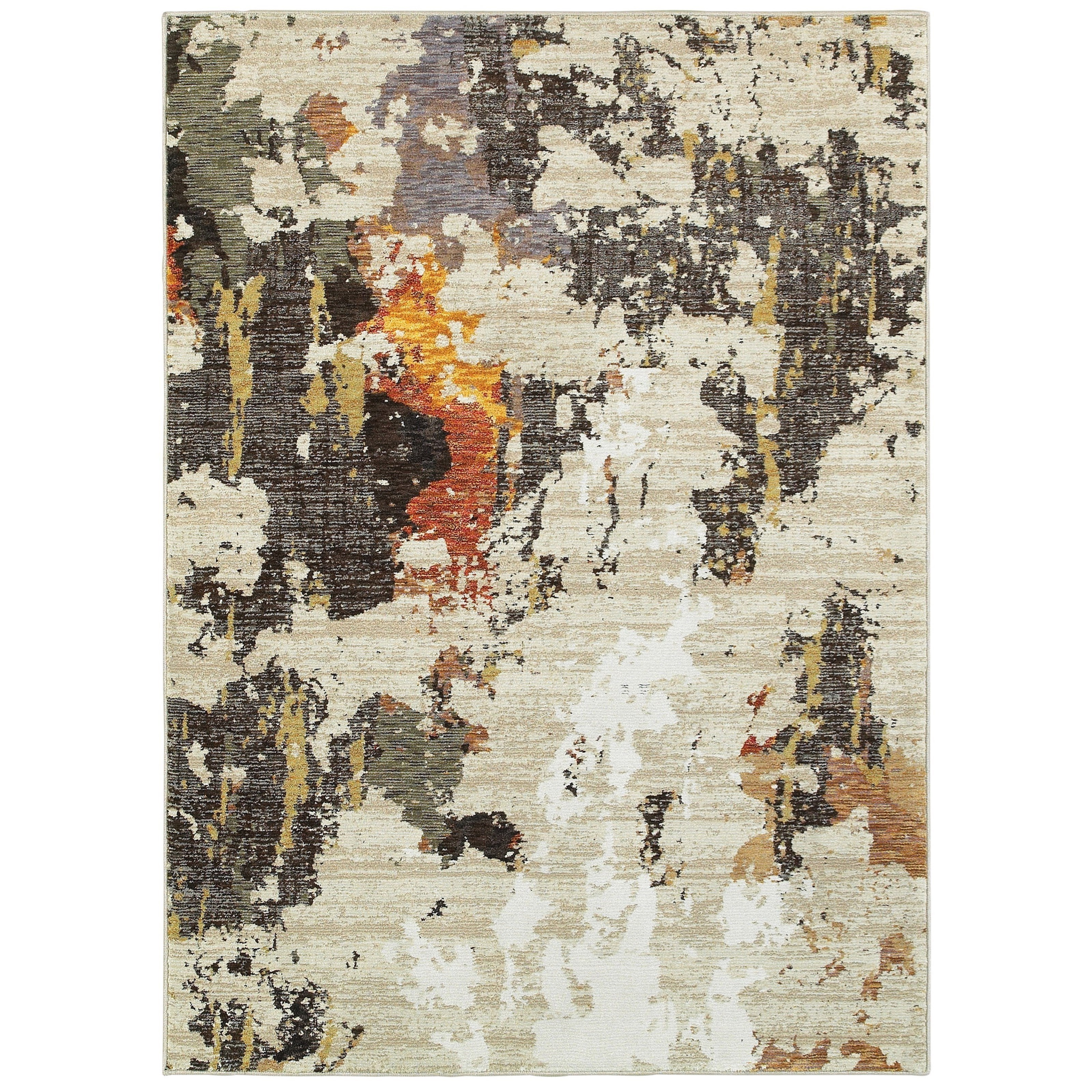"Evolution 5' 3"" X  7' 3"" Rectangle Rug by Oriental Weavers at Darvin Furniture"