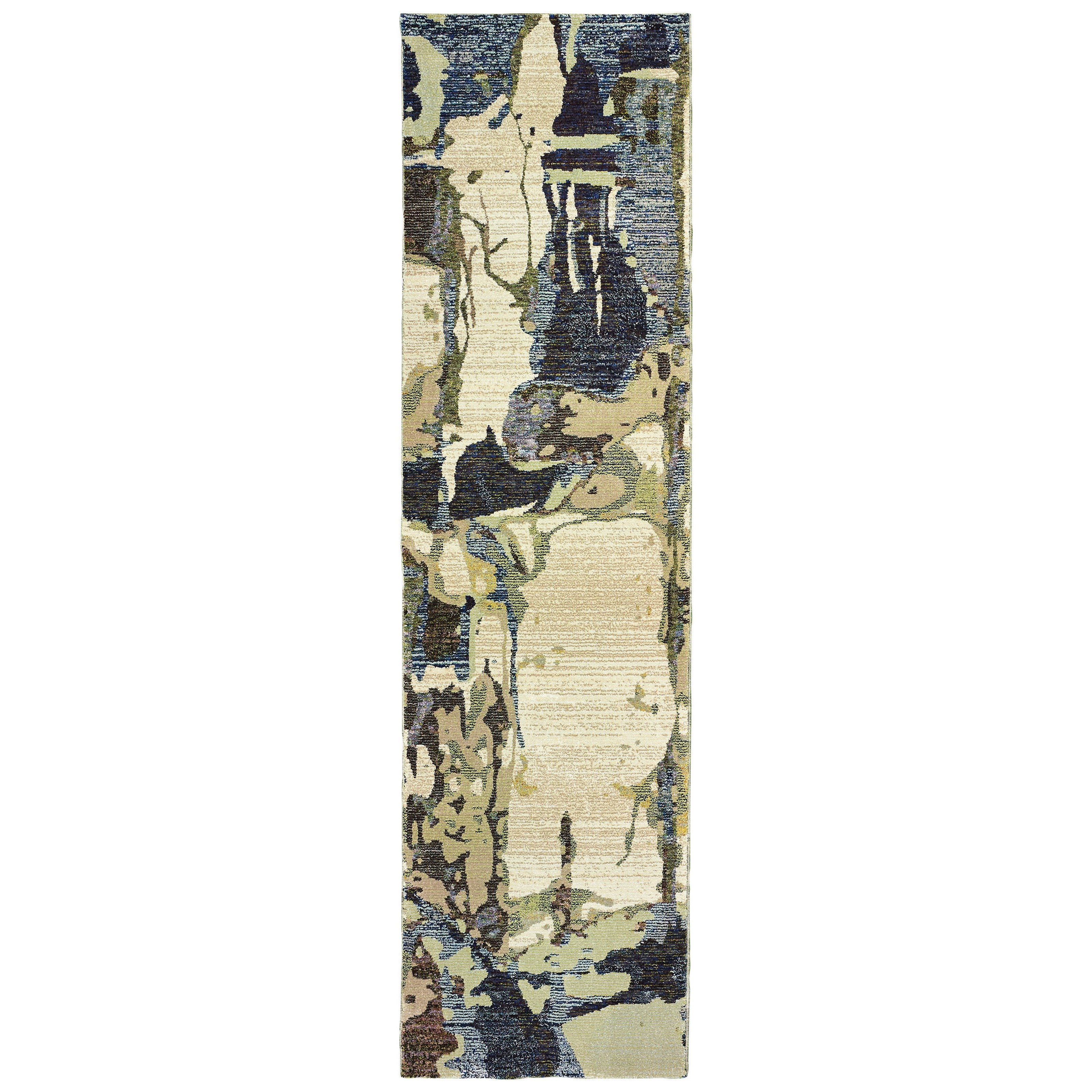 """Evolution 2' 6"""" X 12' 0"""" Runner Rug by Oriental Weavers at Furniture Superstore - Rochester, MN"""