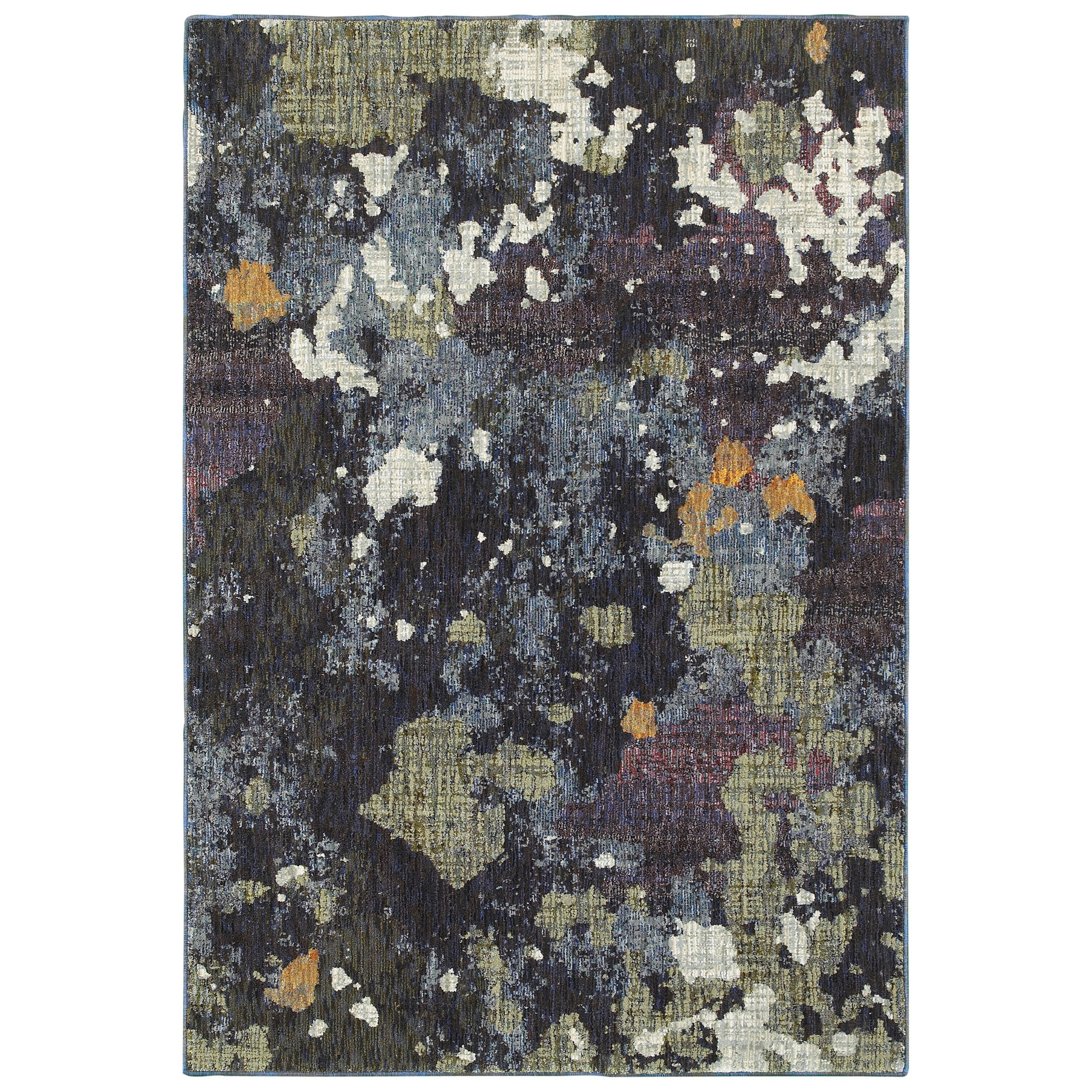 """Evolution 6' 7"""" X  9' 6"""" Rectangle Rug by Oriental Weavers at Steger's Furniture"""