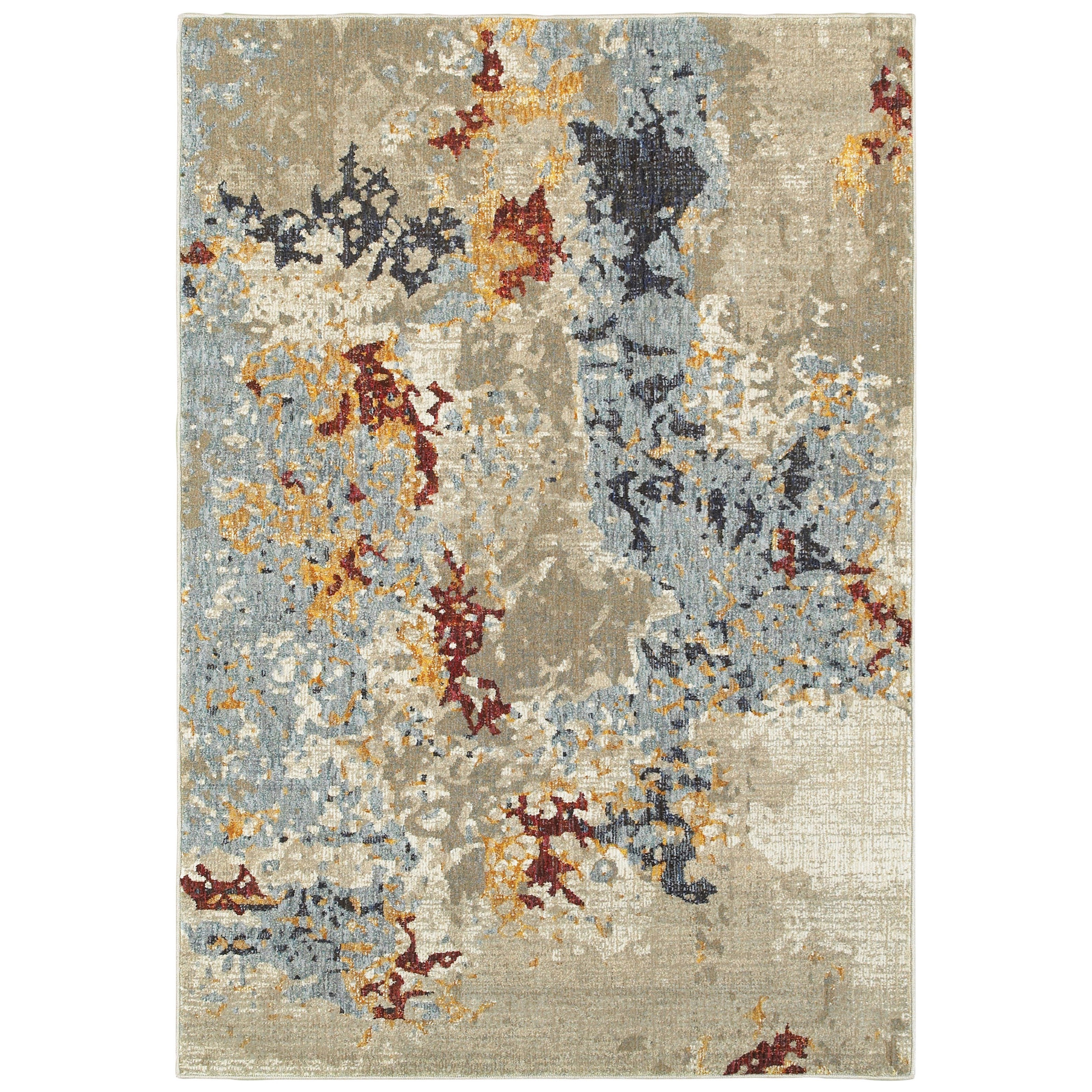 """Evolution 5' 3"""" X  7' 3"""" Rectangle Rug by Oriental Weavers at Darvin Furniture"""
