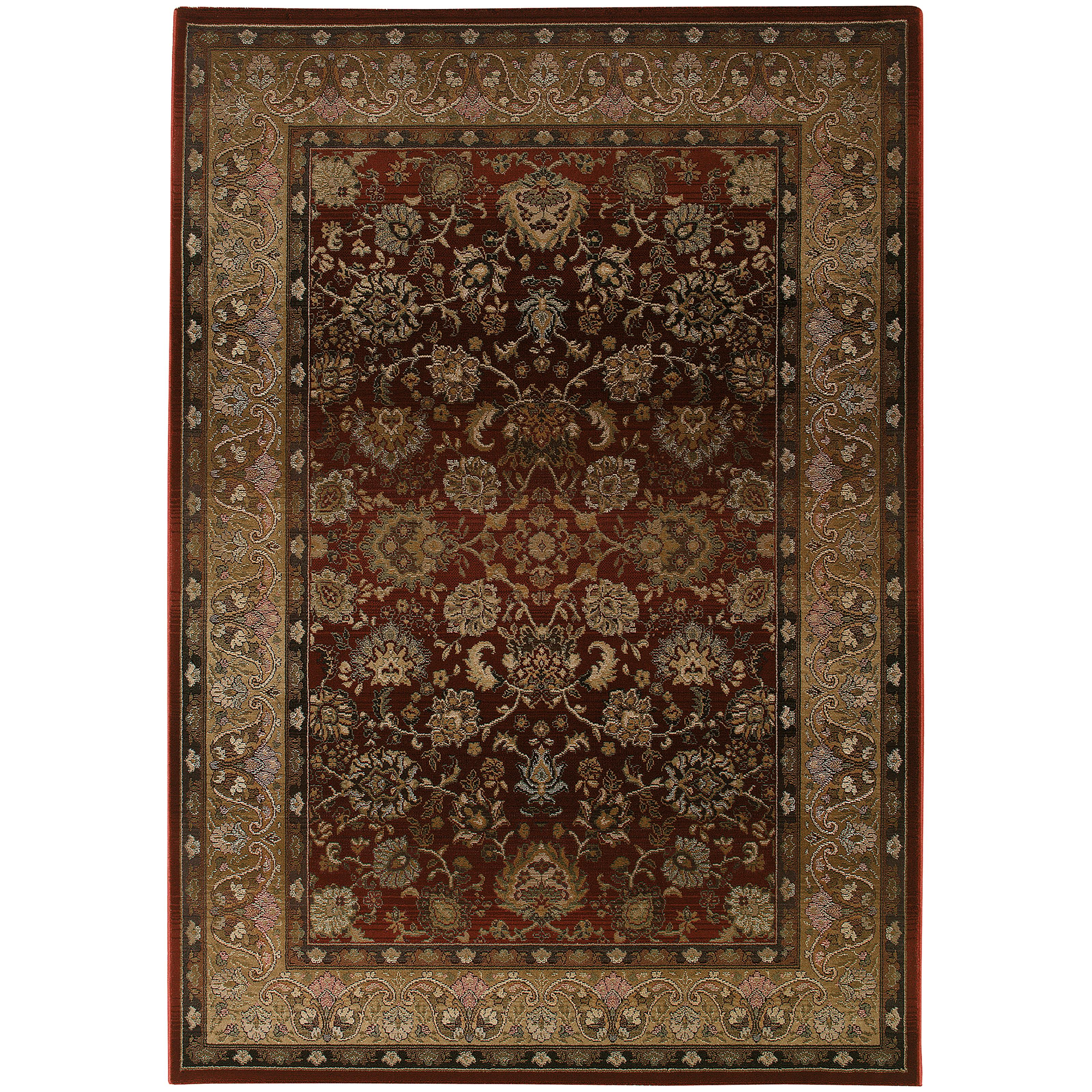 """Generations 6' 7"""" X  9' 1"""" Rug by Oriental Weavers at Dunk & Bright Furniture"""