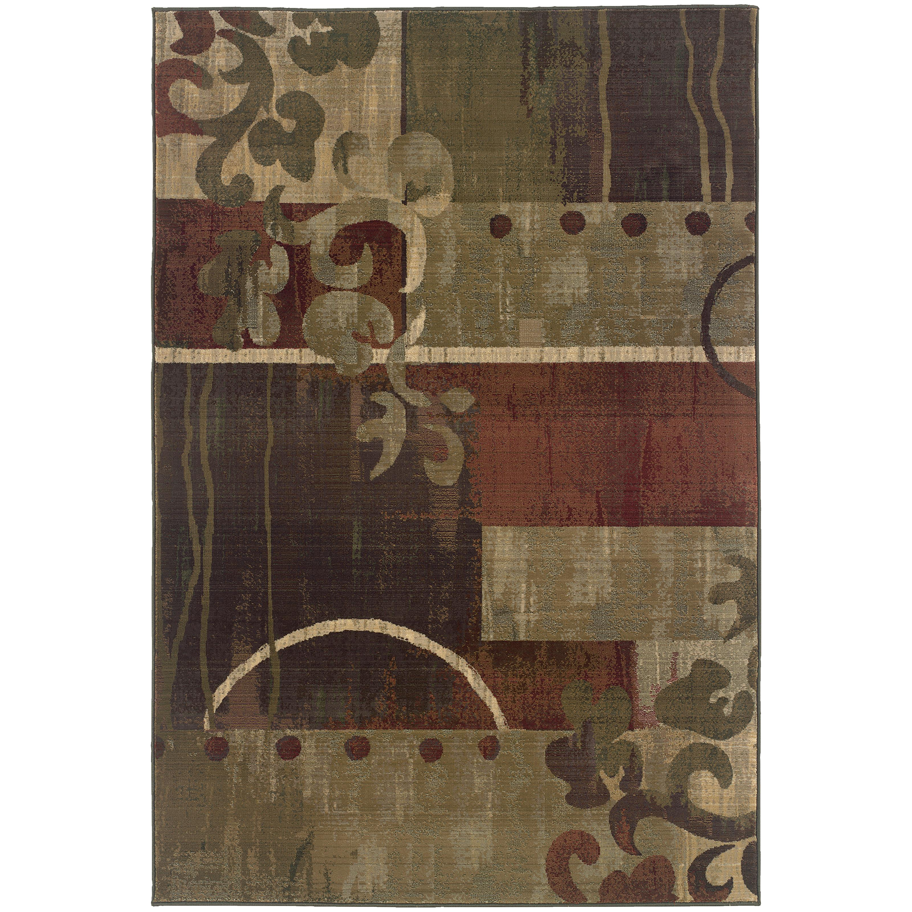 "Generations 5' 3"" X  7' 6"" Rug by OW at Walker's Furniture"