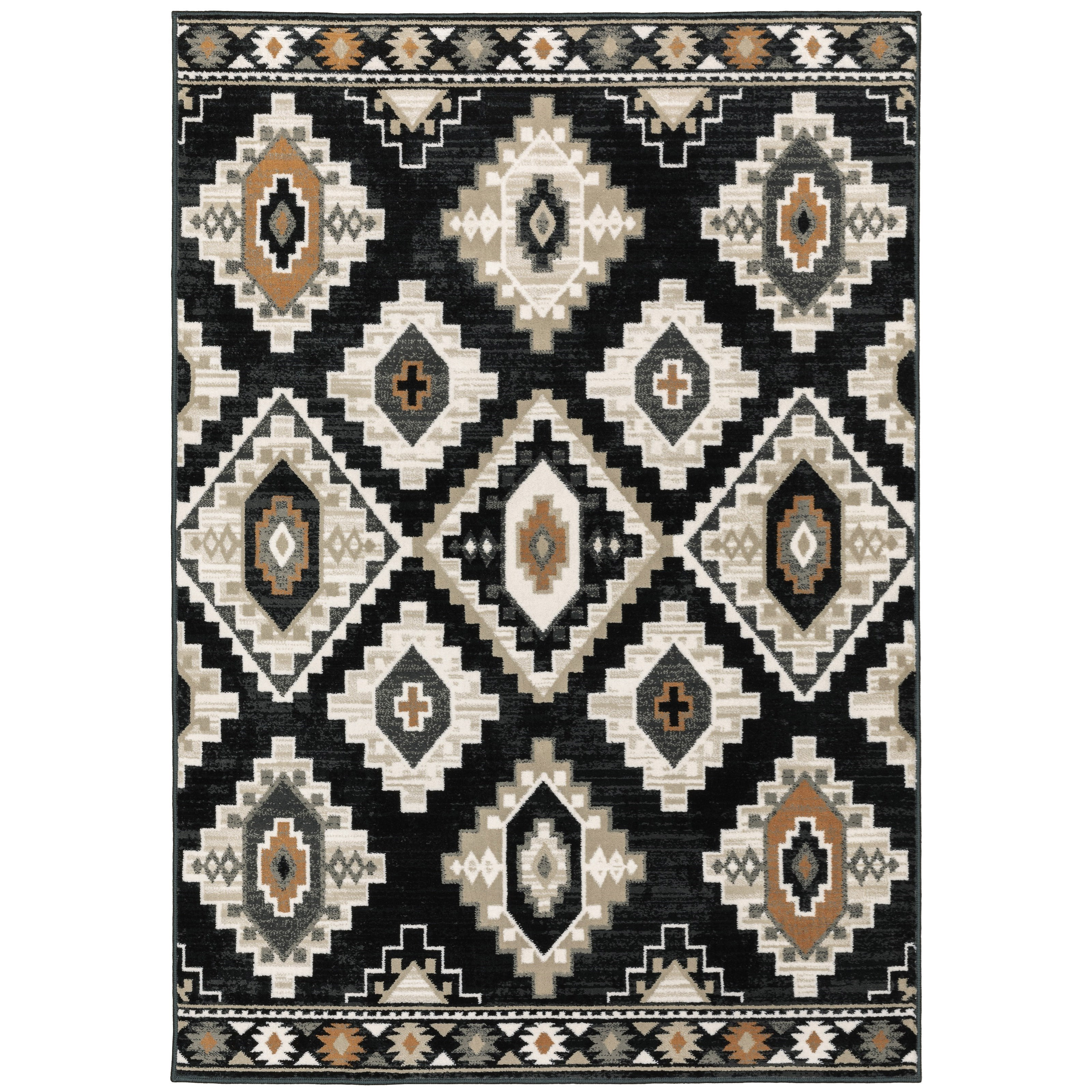 """Georgia 7'10"""" X 10' Rectangle Rug by Oriental Weavers at Steger's Furniture"""