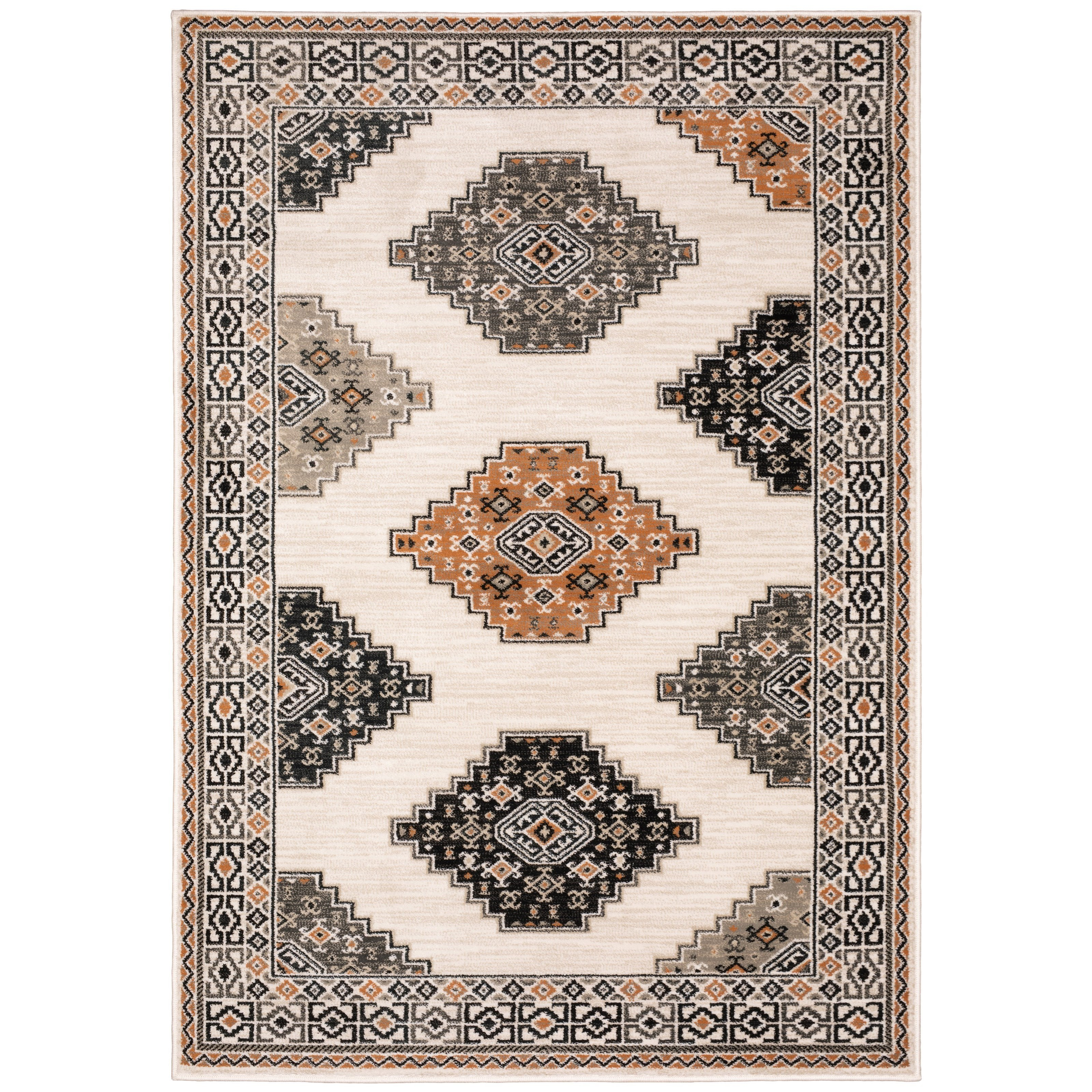 """Georgia 5' 3"""" X  7' 3"""" Rectangle Rug by OW at Walker's Furniture"""