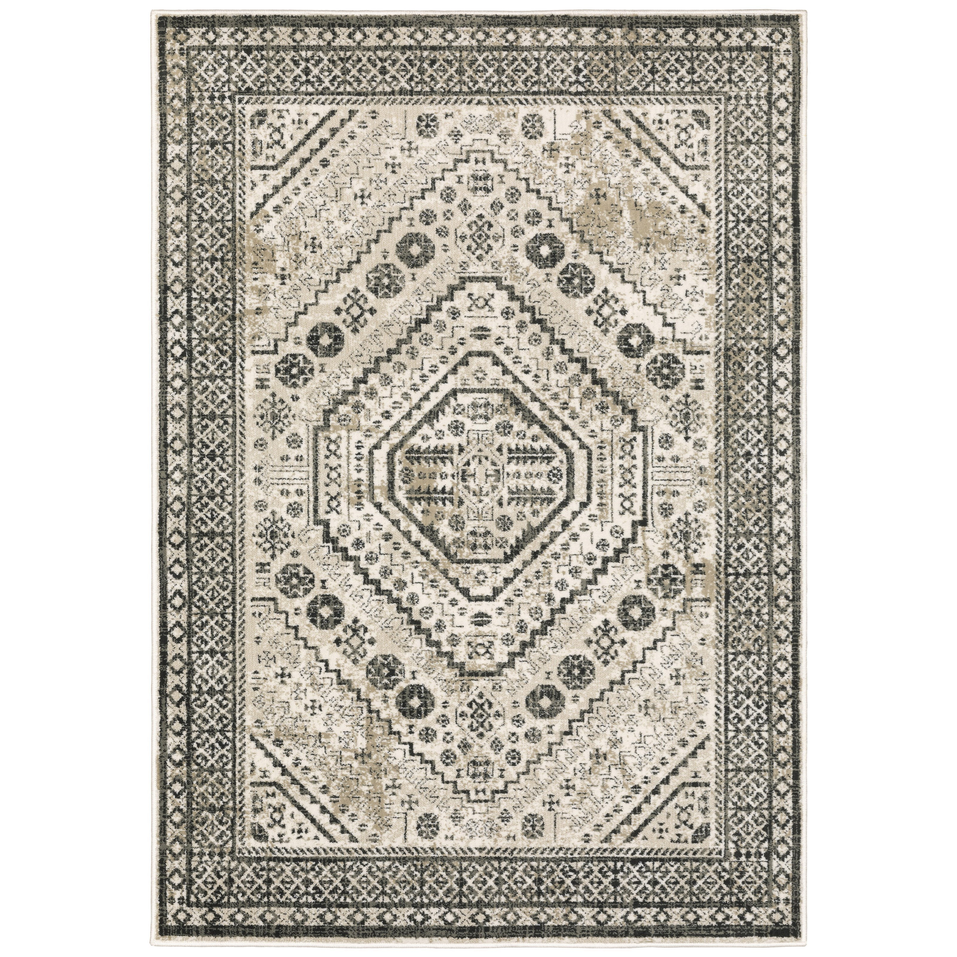 """Georgia 9'10"""" X 12'10"""" Rectangle Rug by Oriental Weavers at Miller Waldrop Furniture and Decor"""