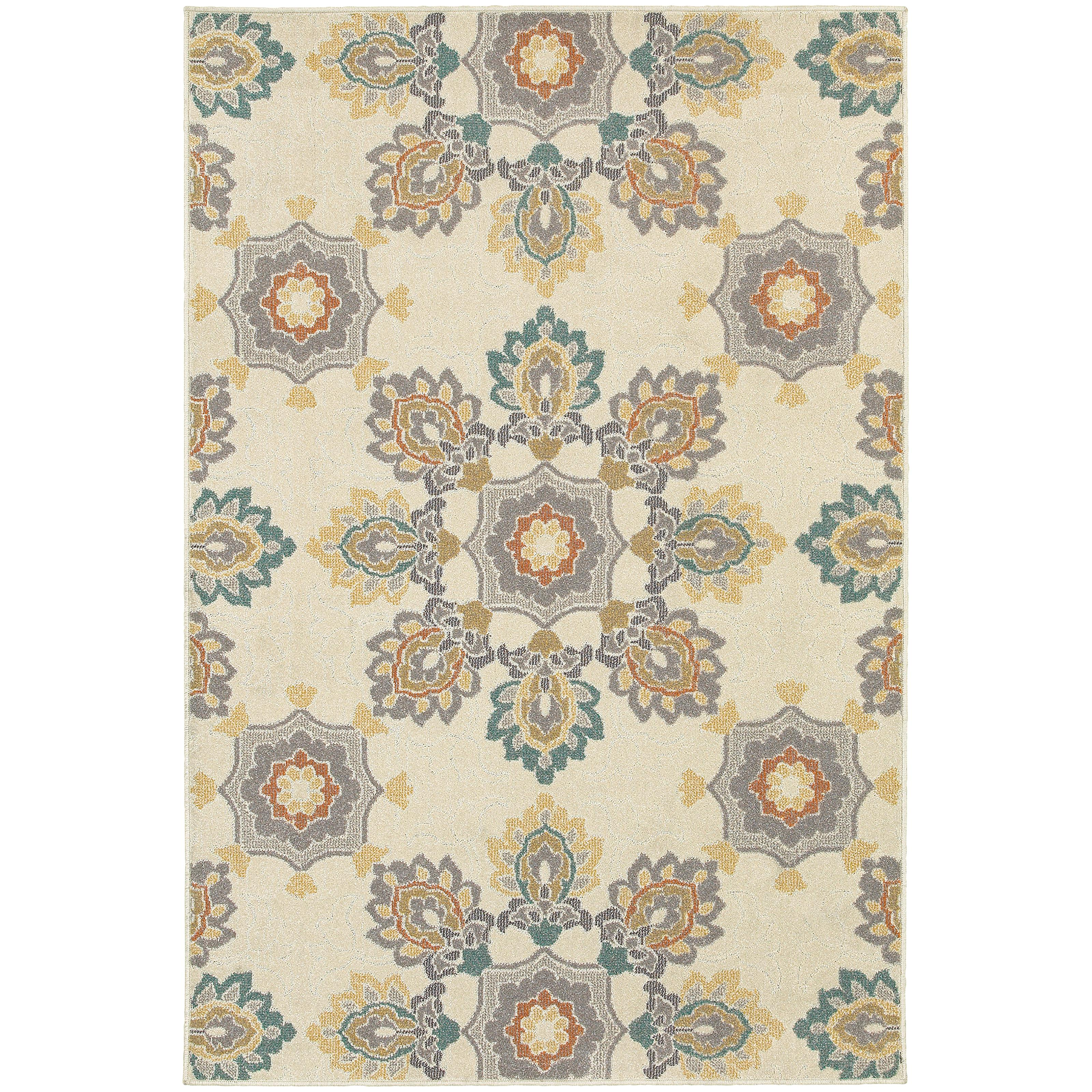 """Hampton 5' 3"""" X  7' 6"""" Rug by OW at Walker's Furniture"""