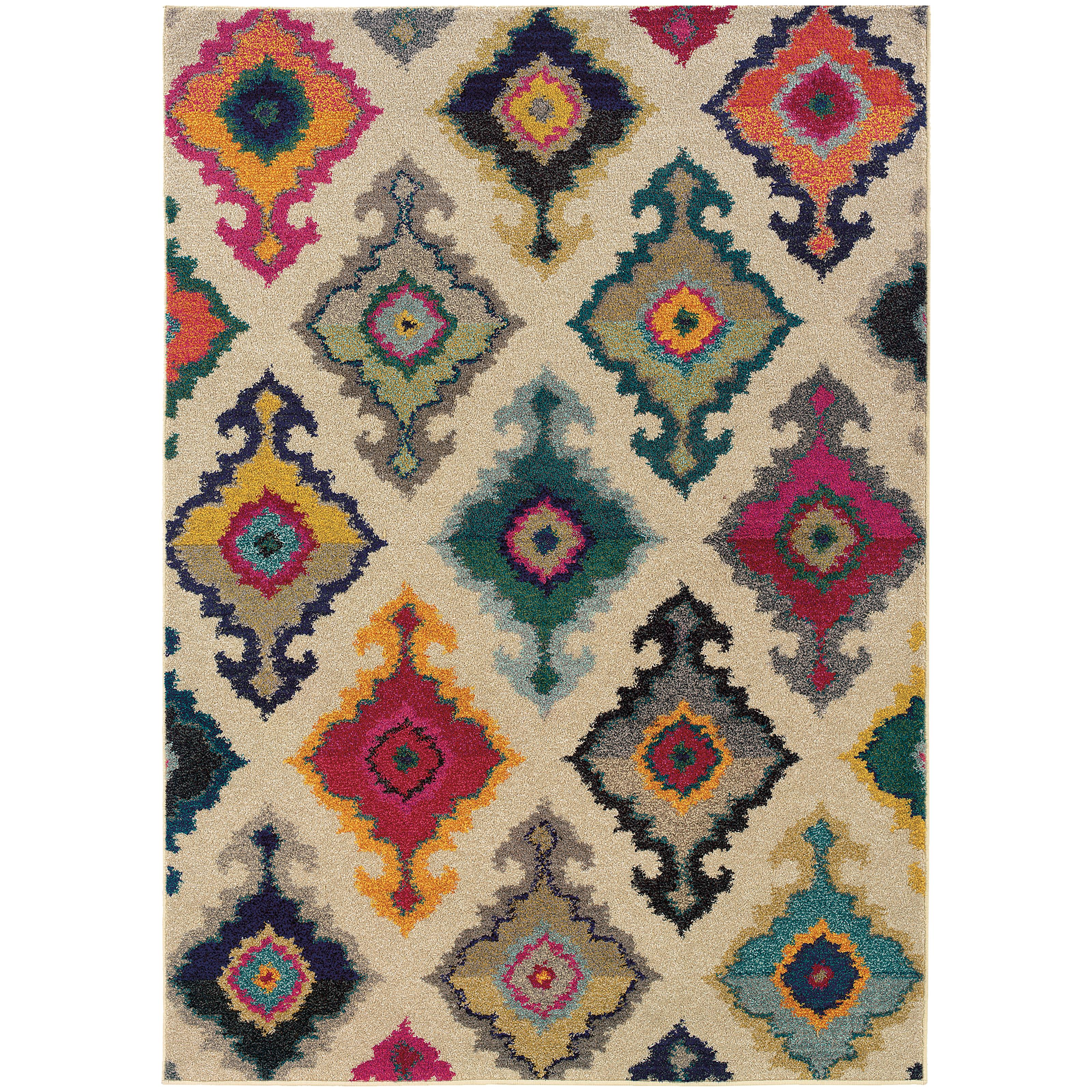 "Kaleidoscope 5' 3"" X  7' 6"" Rug by Oriental Weavers at Novello Home Furnishings"
