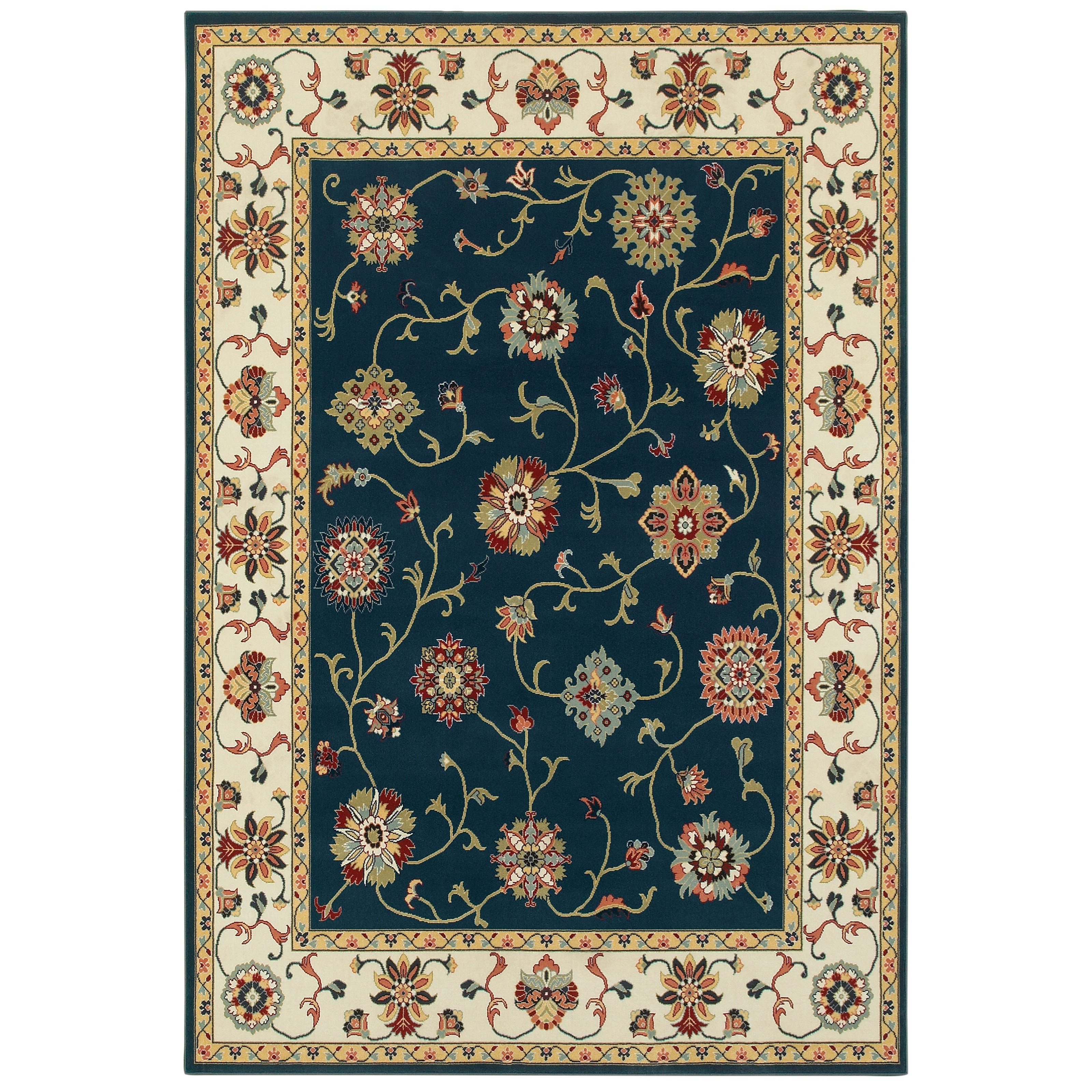 "Kashan 3'10"" X  5' 5"" Rectangle Rug by Oriental Weavers at Godby Home Furnishings"