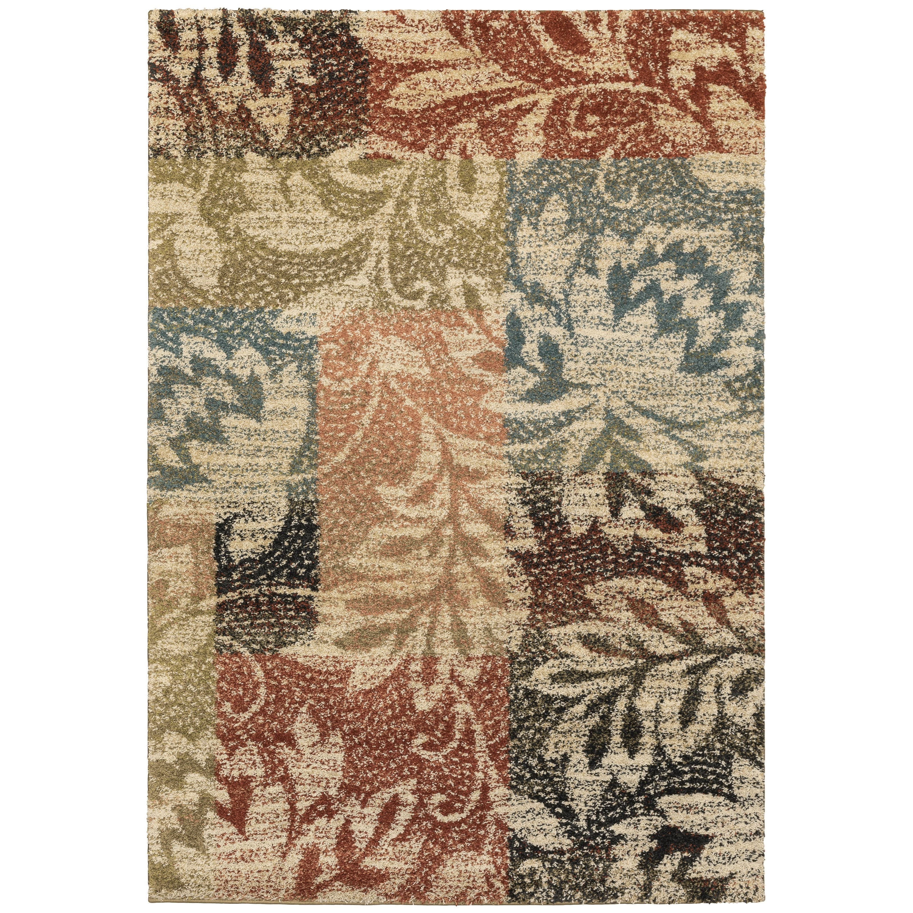 """Kendall 5' 3"""" X  7' 6"""" Rectangle Rug by OW at Walker's Furniture"""
