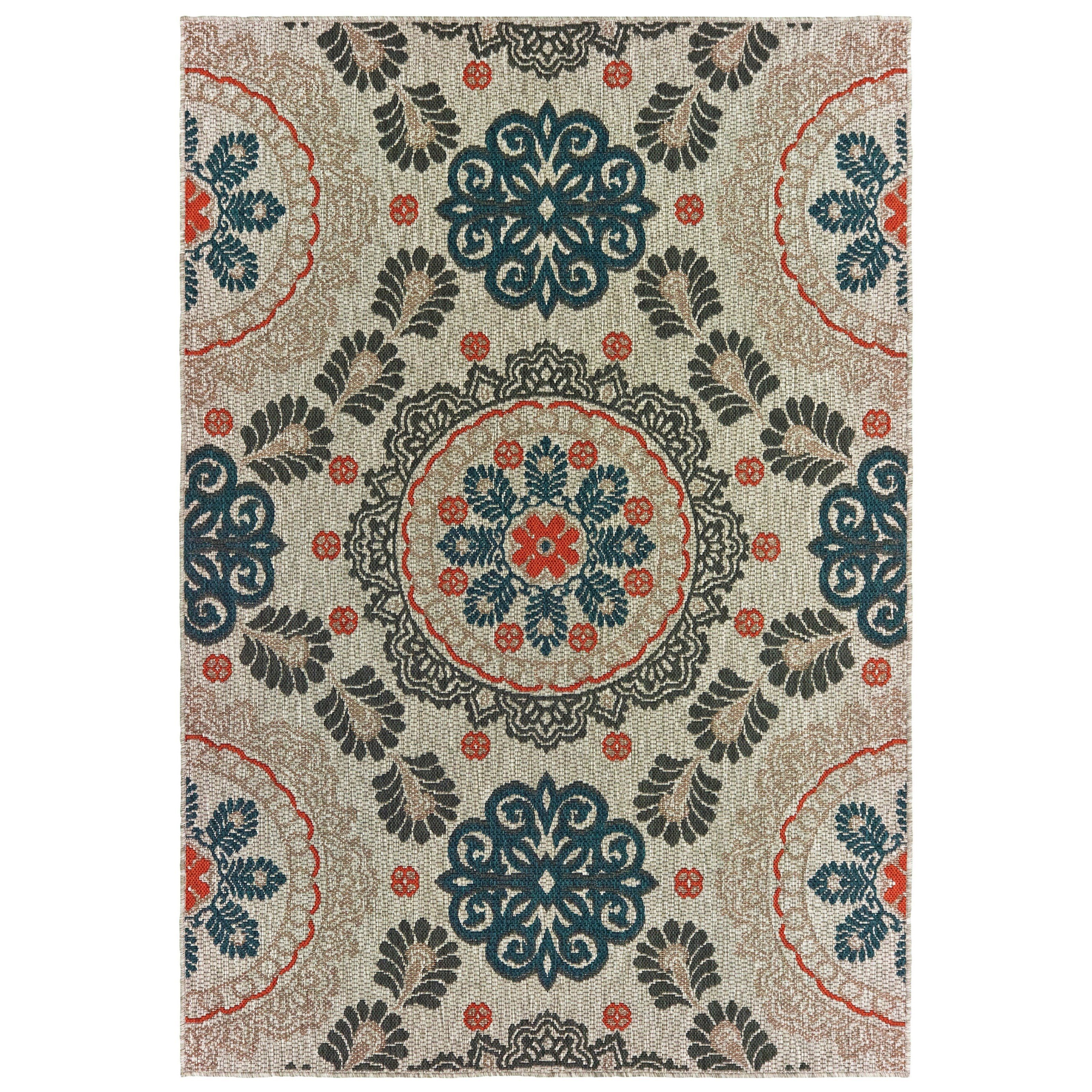 "Latitude 9'10"" X 12'10"" Rectangle Rug by Oriental Weavers at Furniture Superstore - Rochester, MN"