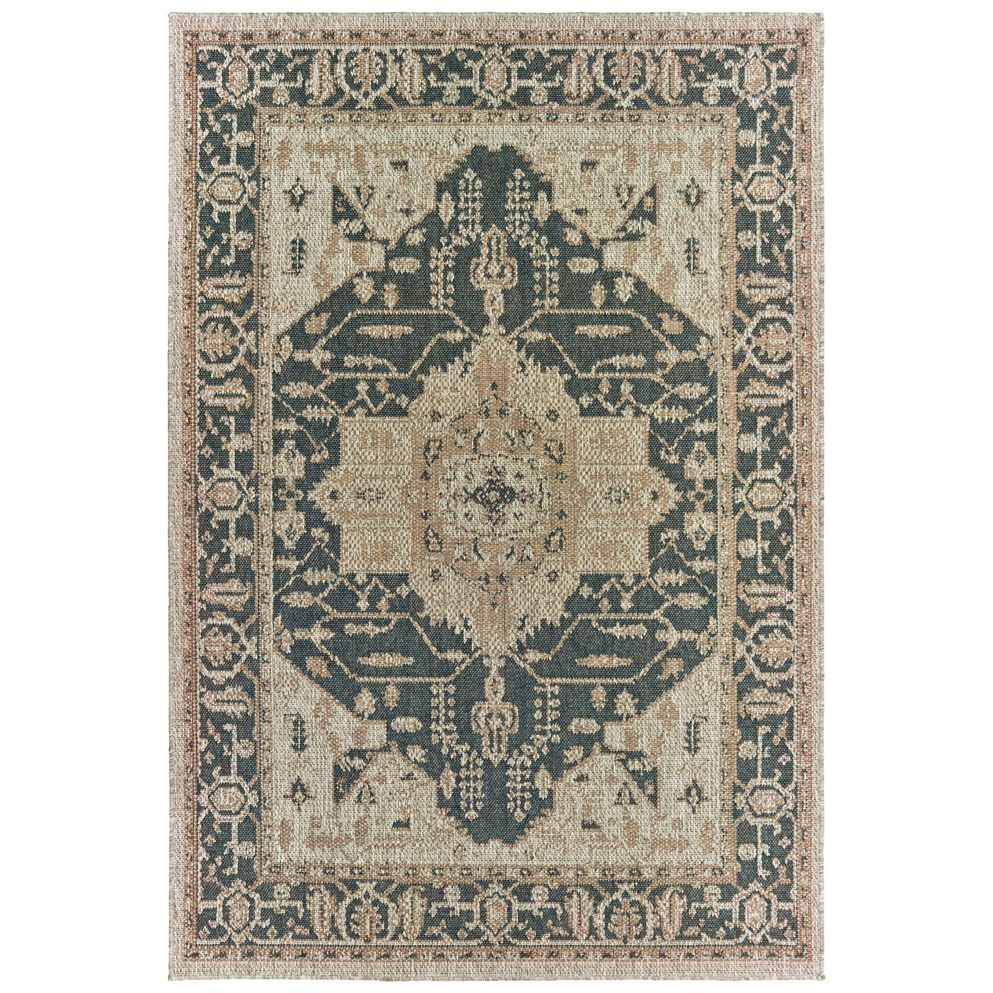 """Latitude 7'10"""" X 10' Rectangle Rug by Oriental Weavers at Steger's Furniture"""