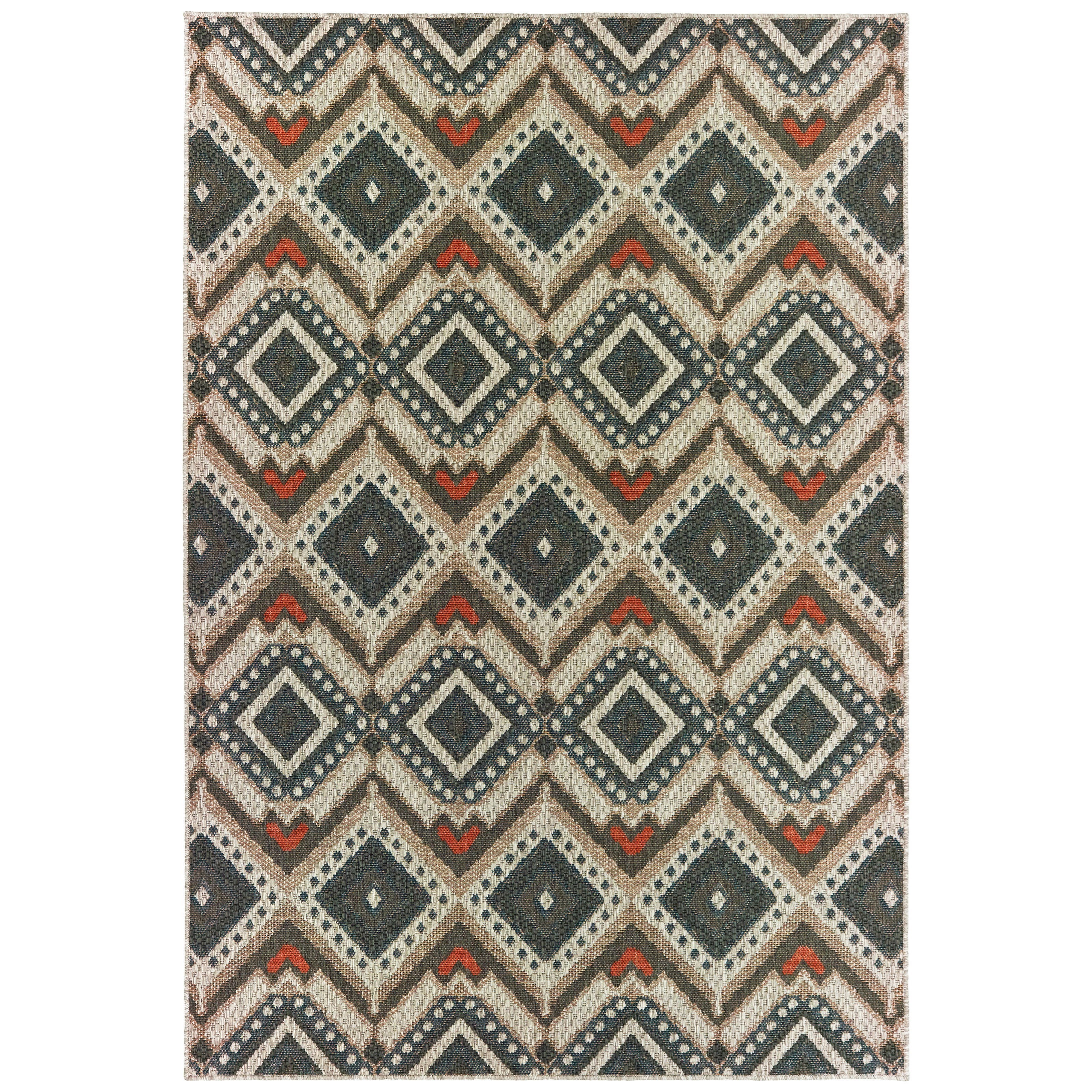 "Latitude 5' 3"" X  7' 3"" Rectangle Rug by Oriental Weavers at Furniture Superstore - Rochester, MN"