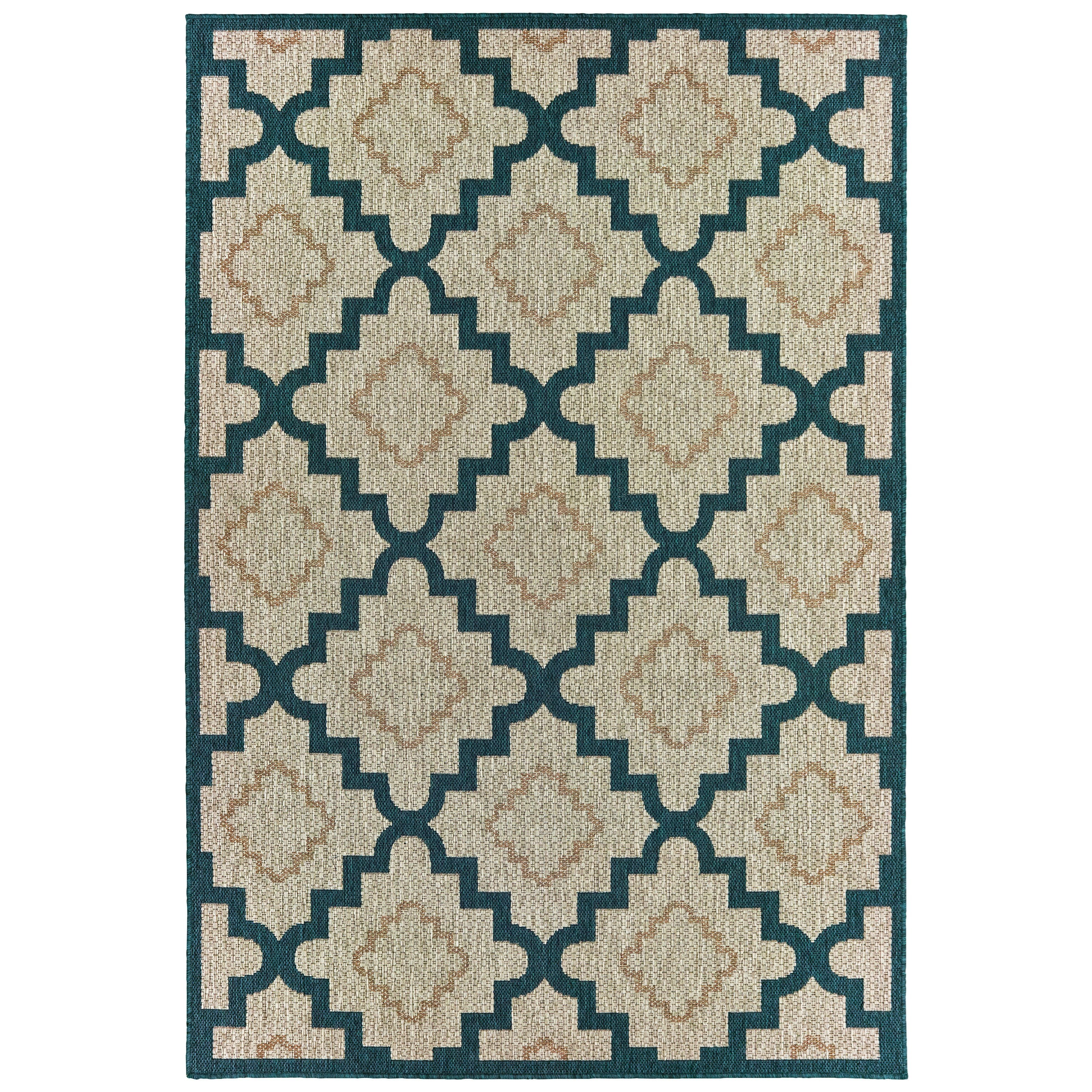"Latitude 3' 3"" X  5' Rectangle Rug by Oriental Weavers at Esprit Decor Home Furnishings"