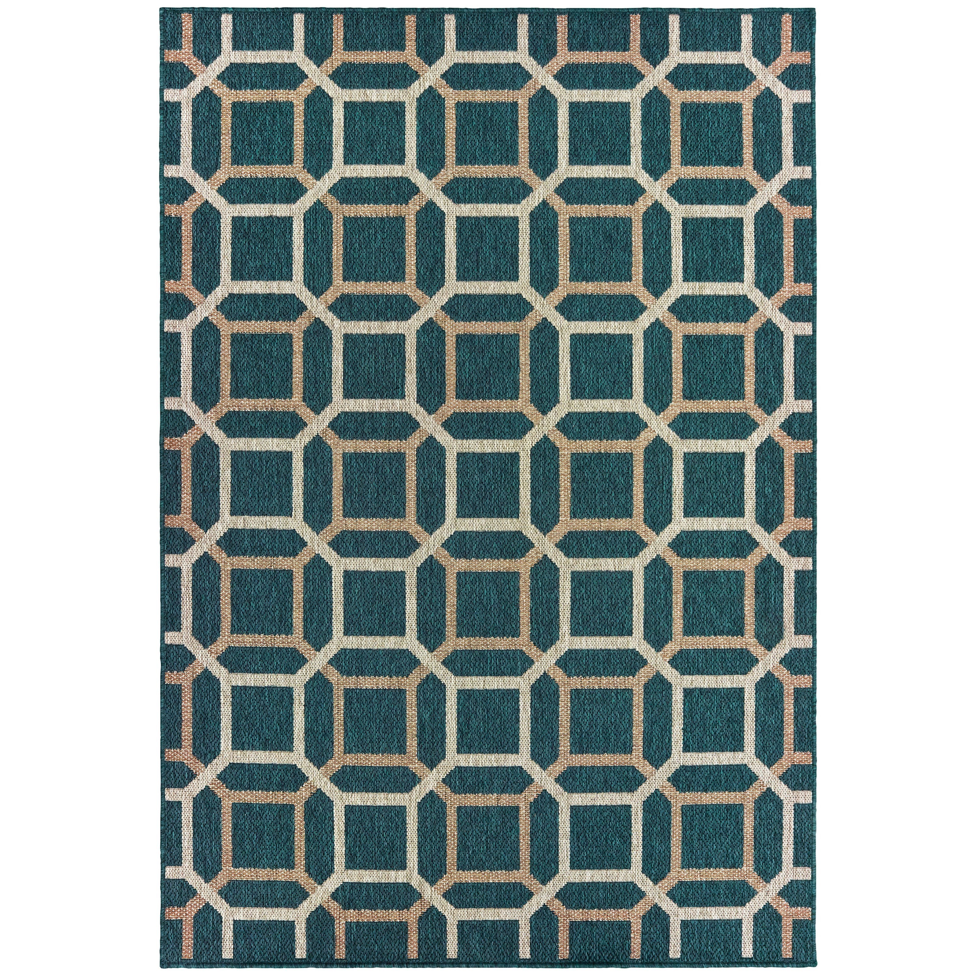 """Latitude 9'10"""" X 12'10"""" Rectangle Rug by Oriental Weavers at Novello Home Furnishings"""