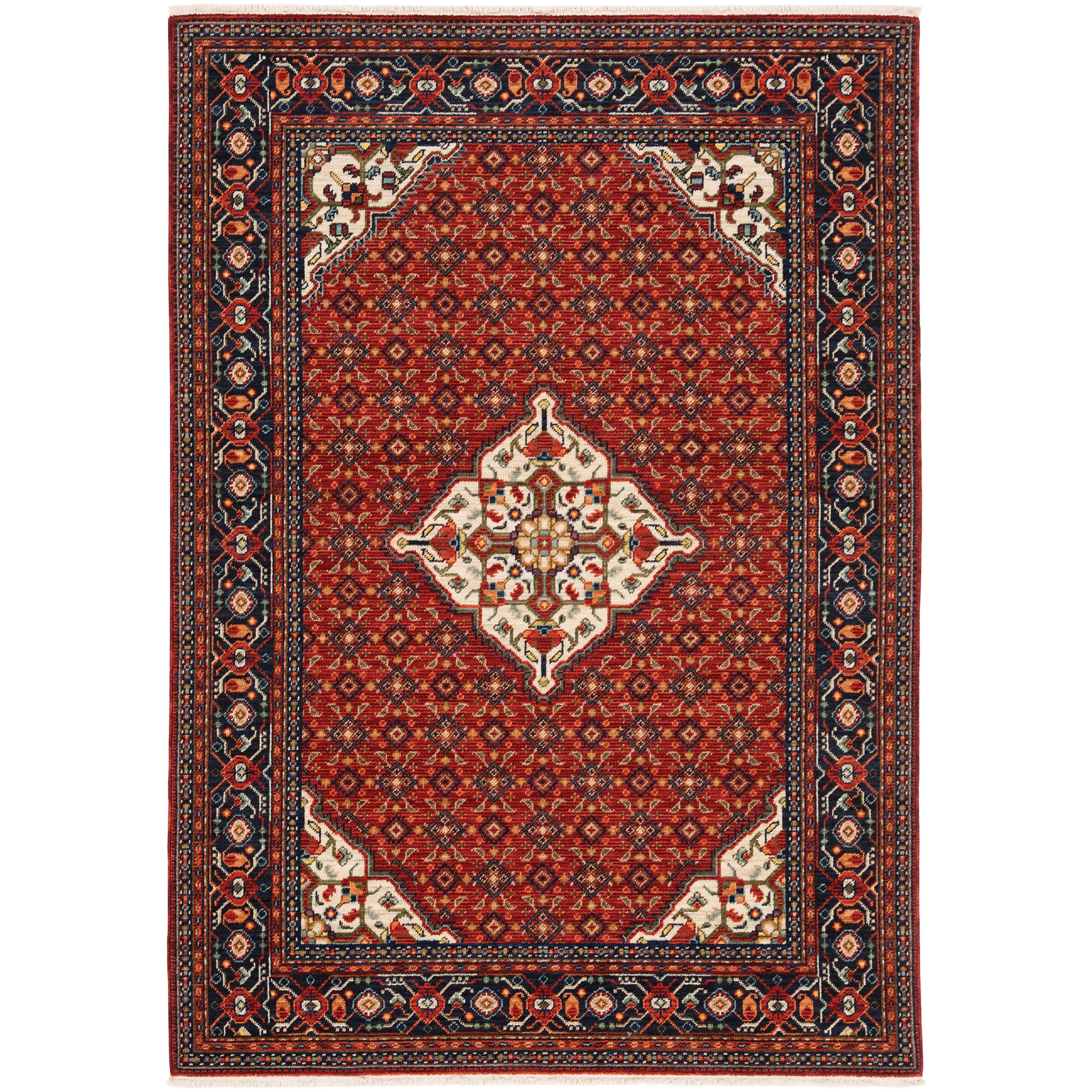 """Lilihan 9'10"""" X 12'10"""" Rectangle Rug by Oriental Weavers at Steger's Furniture"""