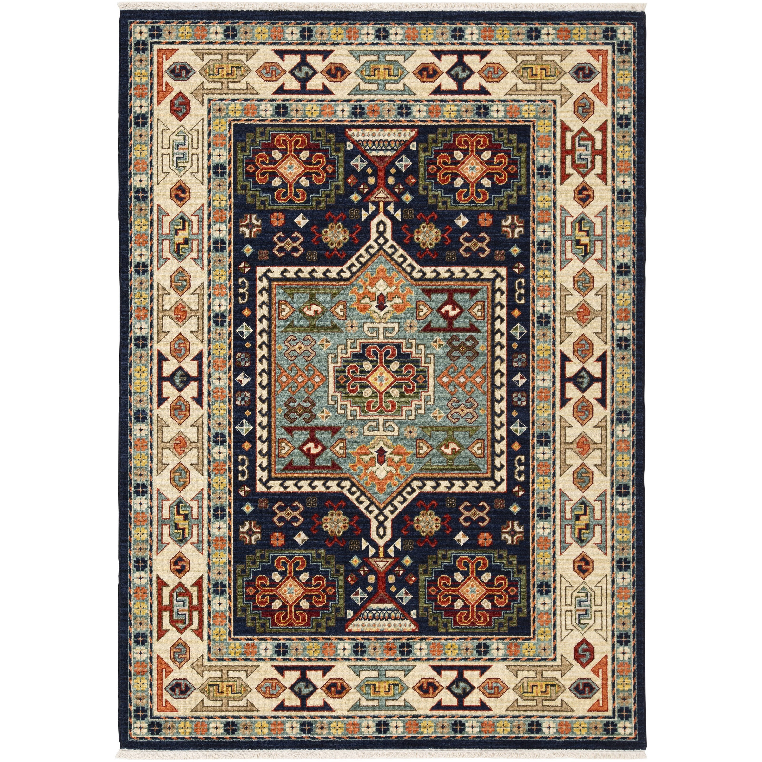 "Lilihan 3' 3"" X  5' Rectangle Rug by Oriental Weavers at Steger's Furniture"