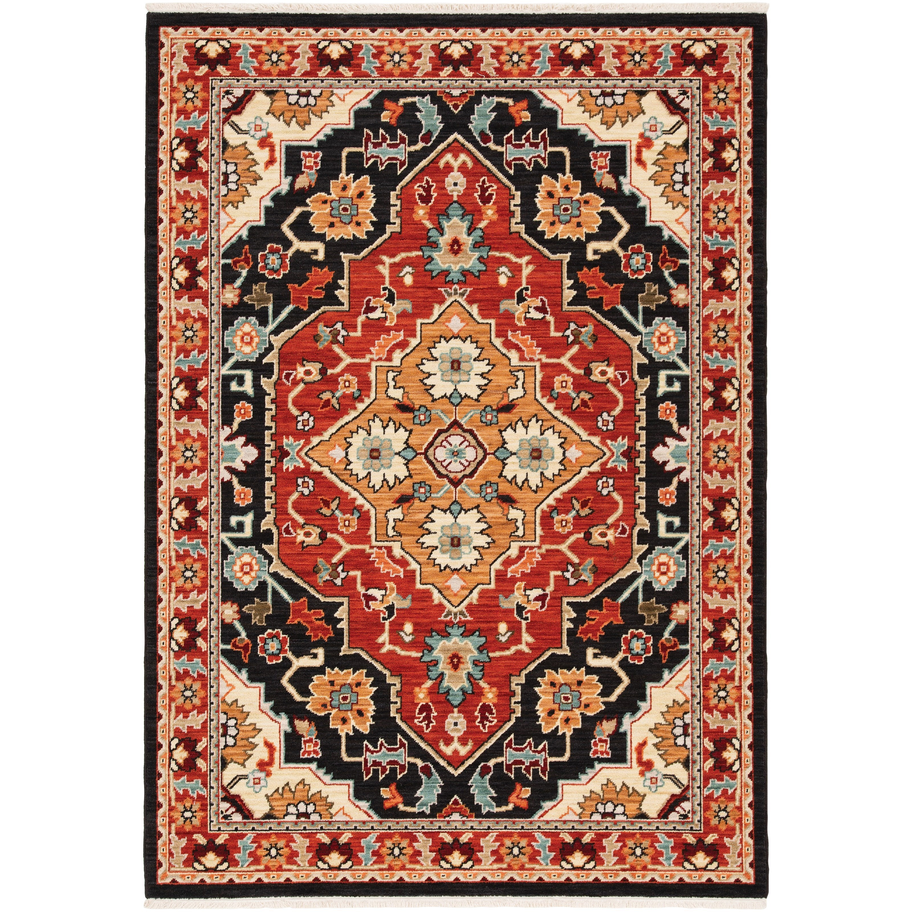 "Lilihan 7'10"" X 10'10"" Rectangle Rug by Oriental Weavers at Steger's Furniture"