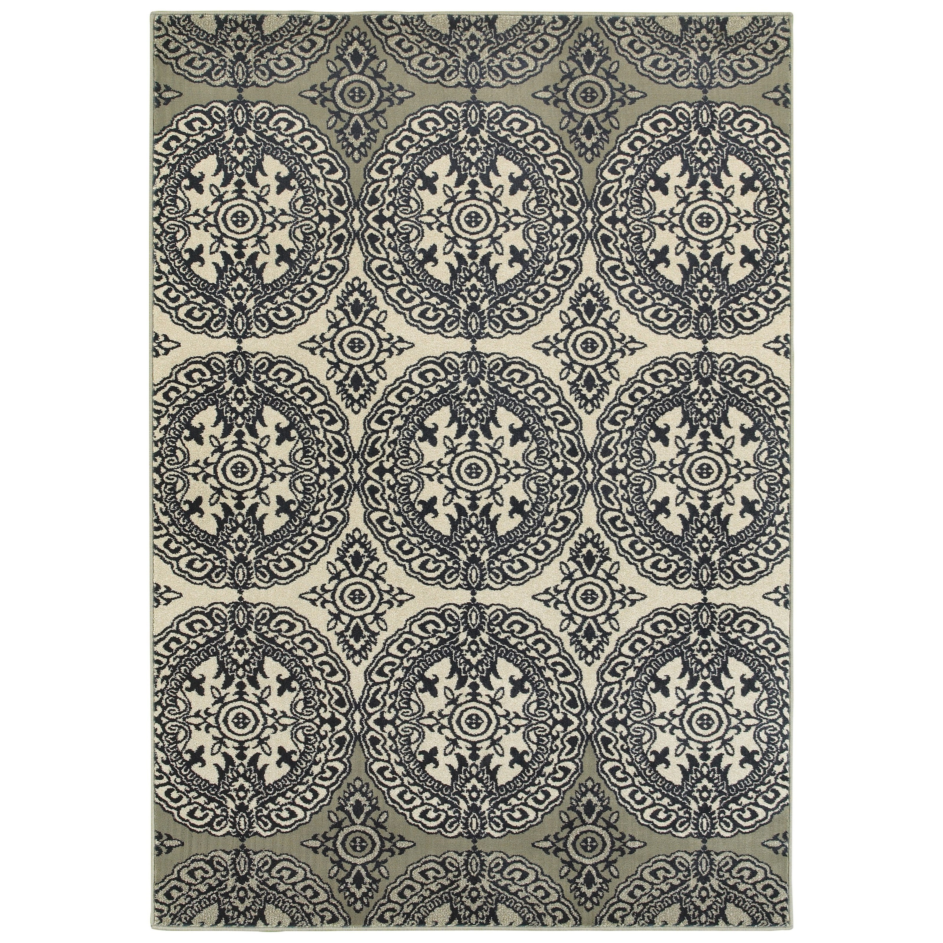 """Linden 5' 3"""" X  7' 6"""" Rectangle Rug by Oriental Weavers at Dunk & Bright Furniture"""
