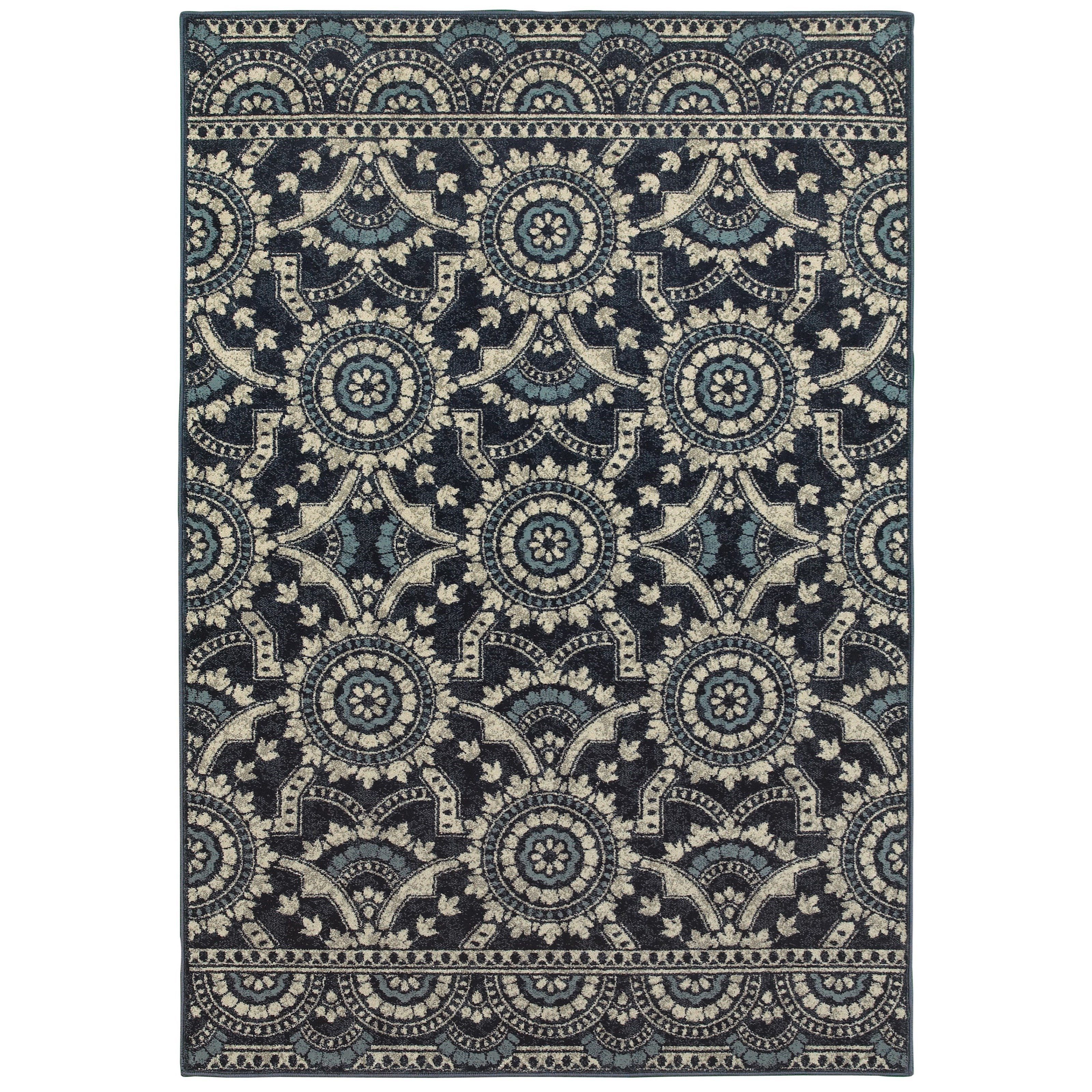 """Linden 5' 3"""" X  7' 6"""" Rectangle Rug by Oriental Weavers at Steger's Furniture"""