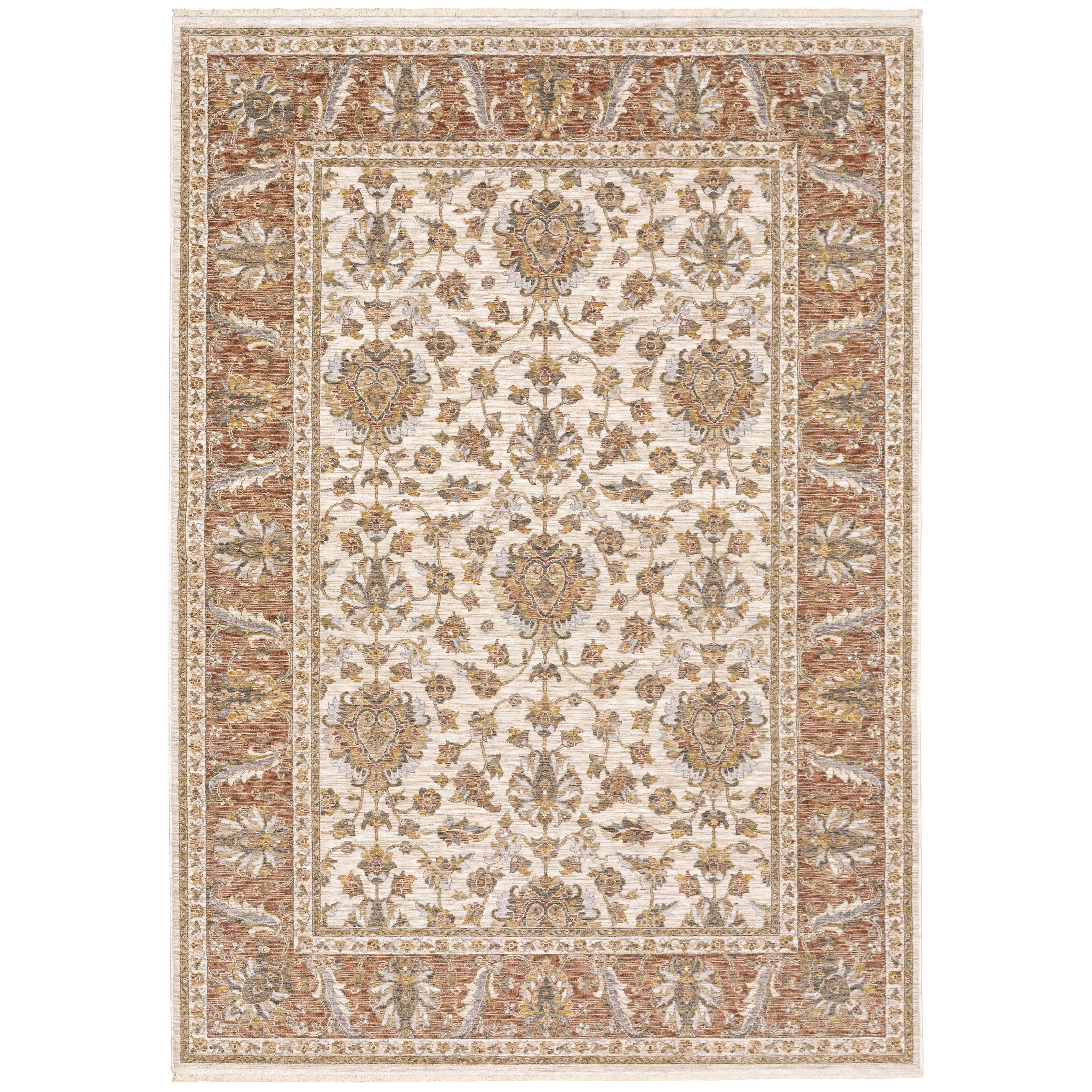 "Maharaja 6' 7"" X  9' 6"" Rectangle Rug by Oriental Weavers at Novello Home Furnishings"