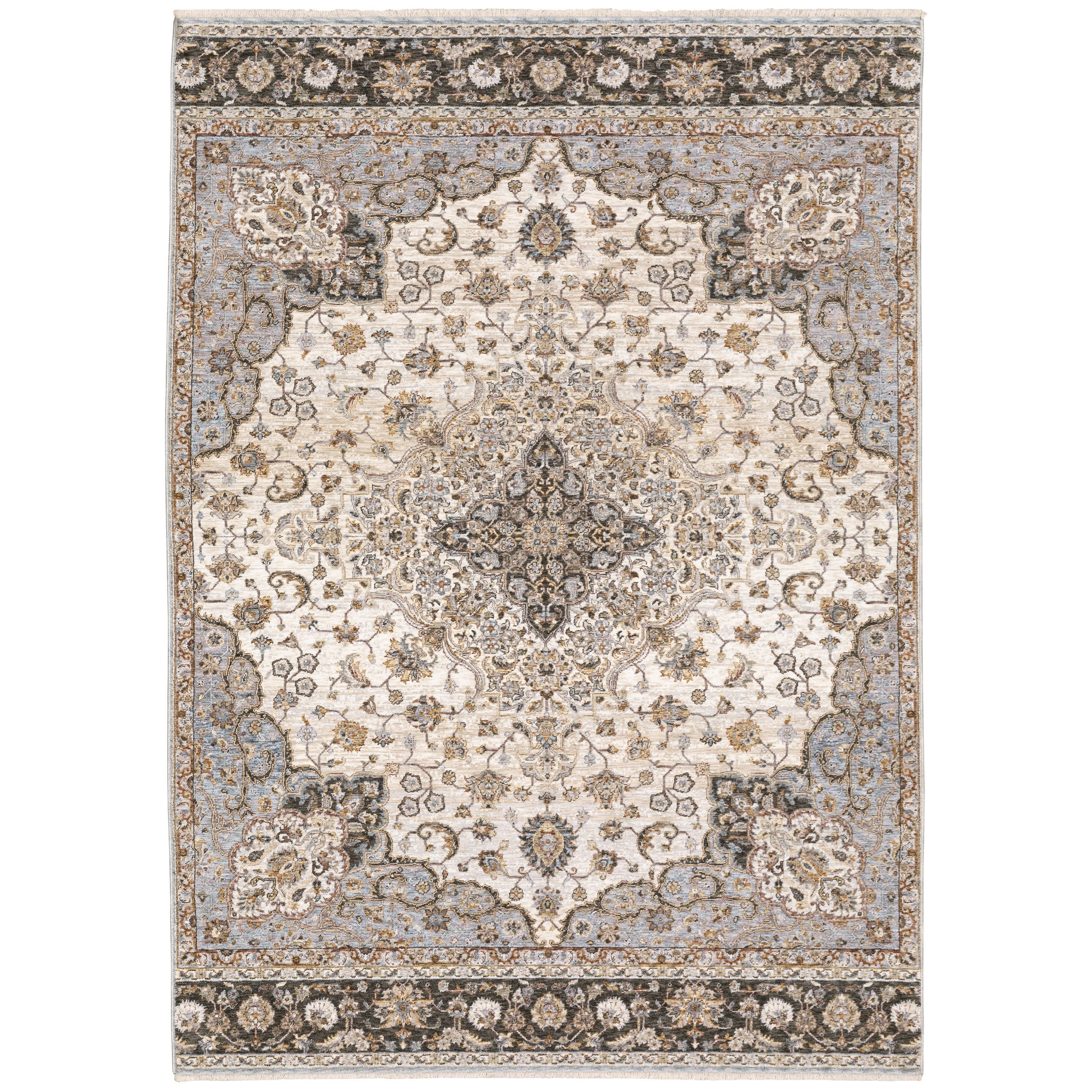 """Maharaja 7'10"""" X 10'10"""" Rectangle Rug by Oriental Weavers at Miller Waldrop Furniture and Decor"""