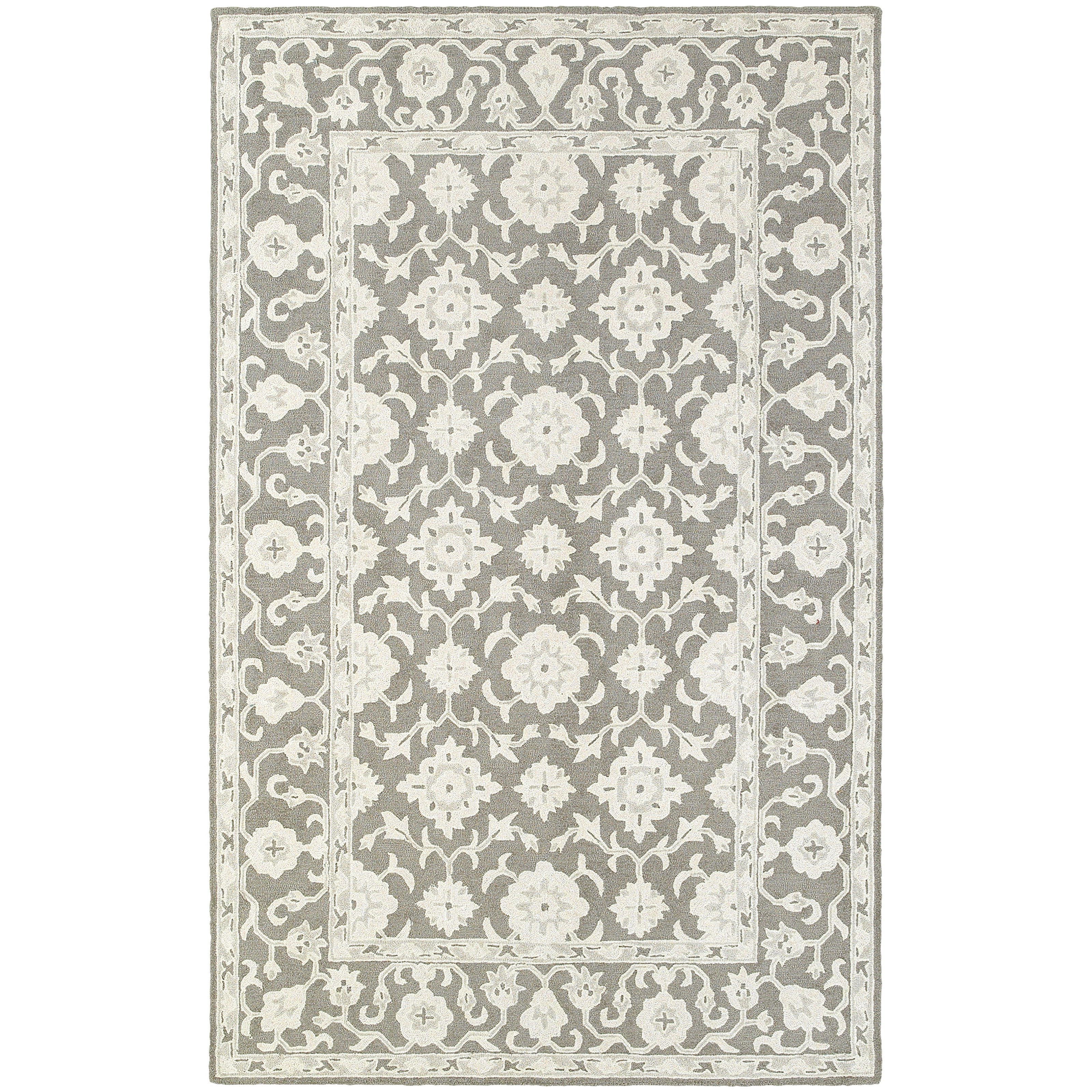 """Manor 10' 0"""" X 13' 0"""" Casual Grey/ Stone Rectangle by Oriental Weavers at Steger's Furniture"""
