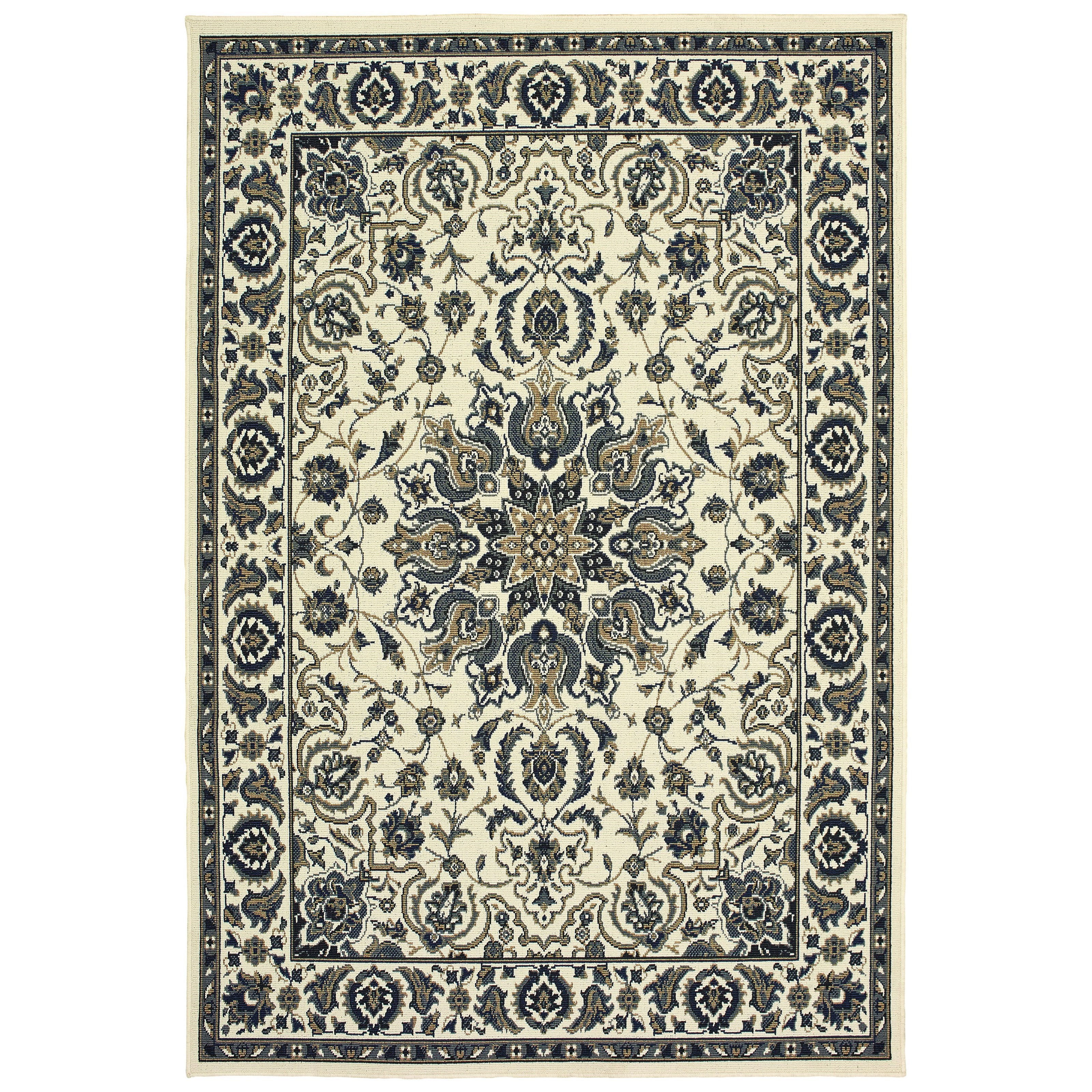 """Marina 7'10"""" X 10'10"""" Rectangle Rug by Oriental Weavers at Darvin Furniture"""