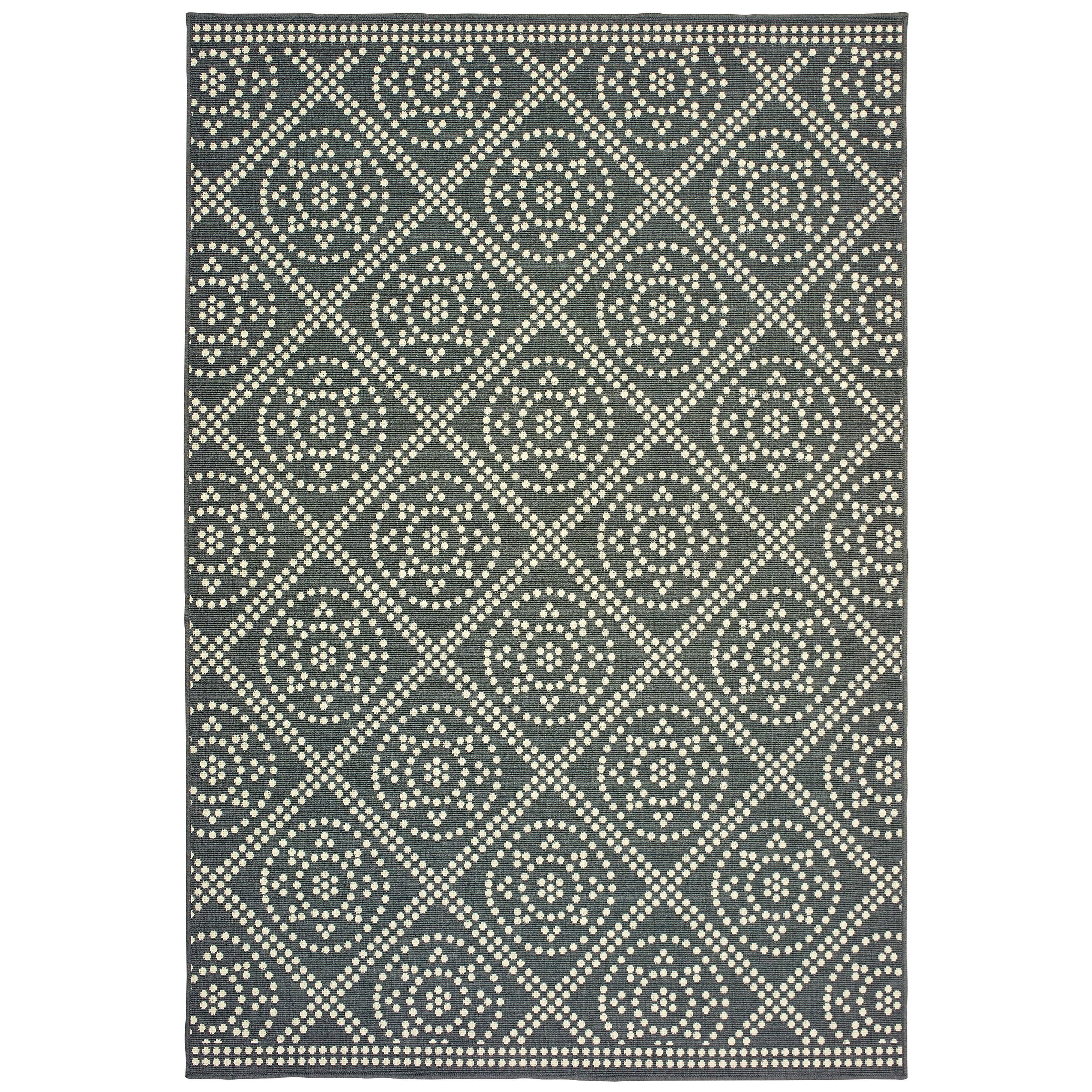 "Marina 7'10"" X 10'10"" Rectangle Rug by Oriental Weavers at Lucas Furniture & Mattress"