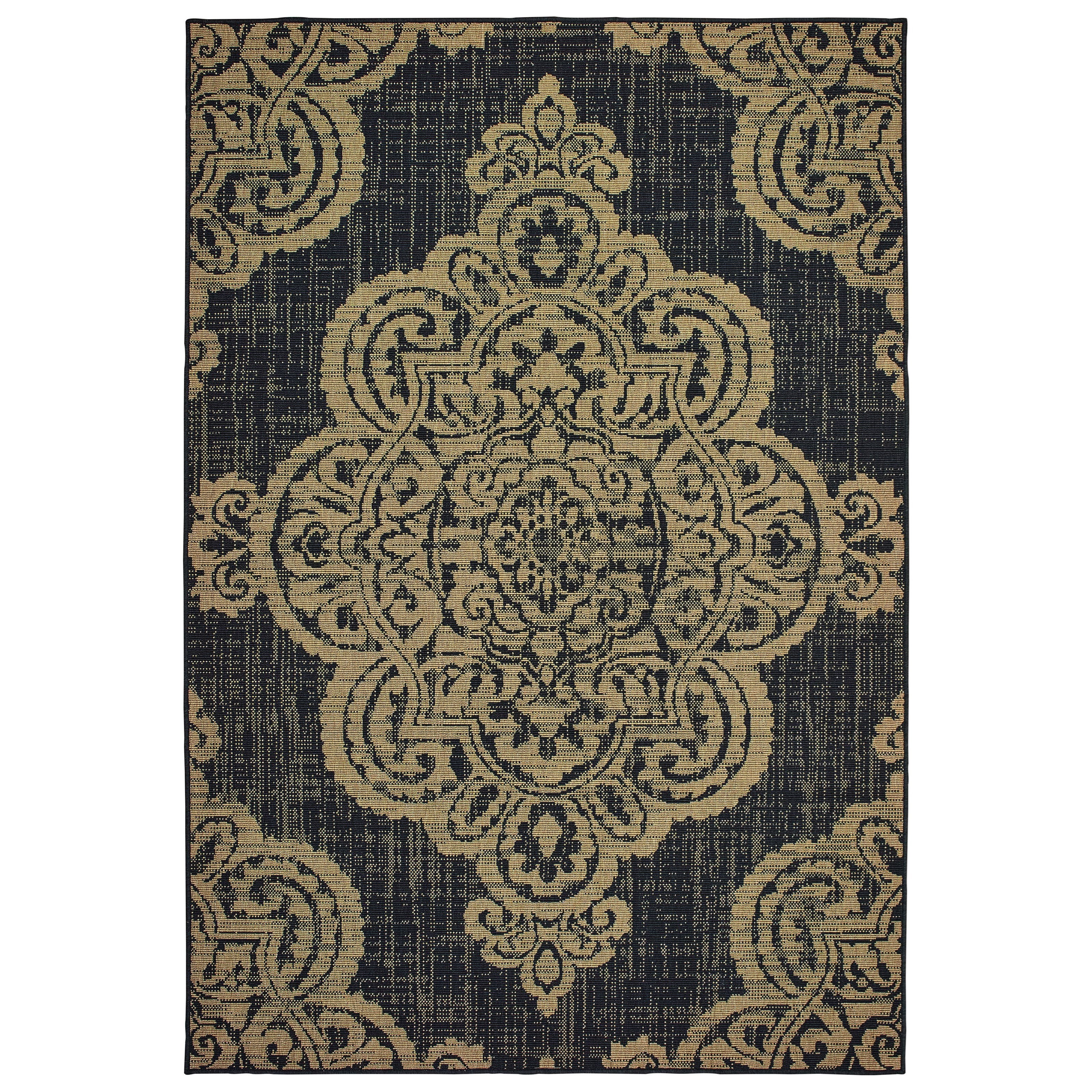 """Marina 7'10"""" X 10'10"""" Rectangle Rug by Oriental Weavers at Dunk & Bright Furniture"""