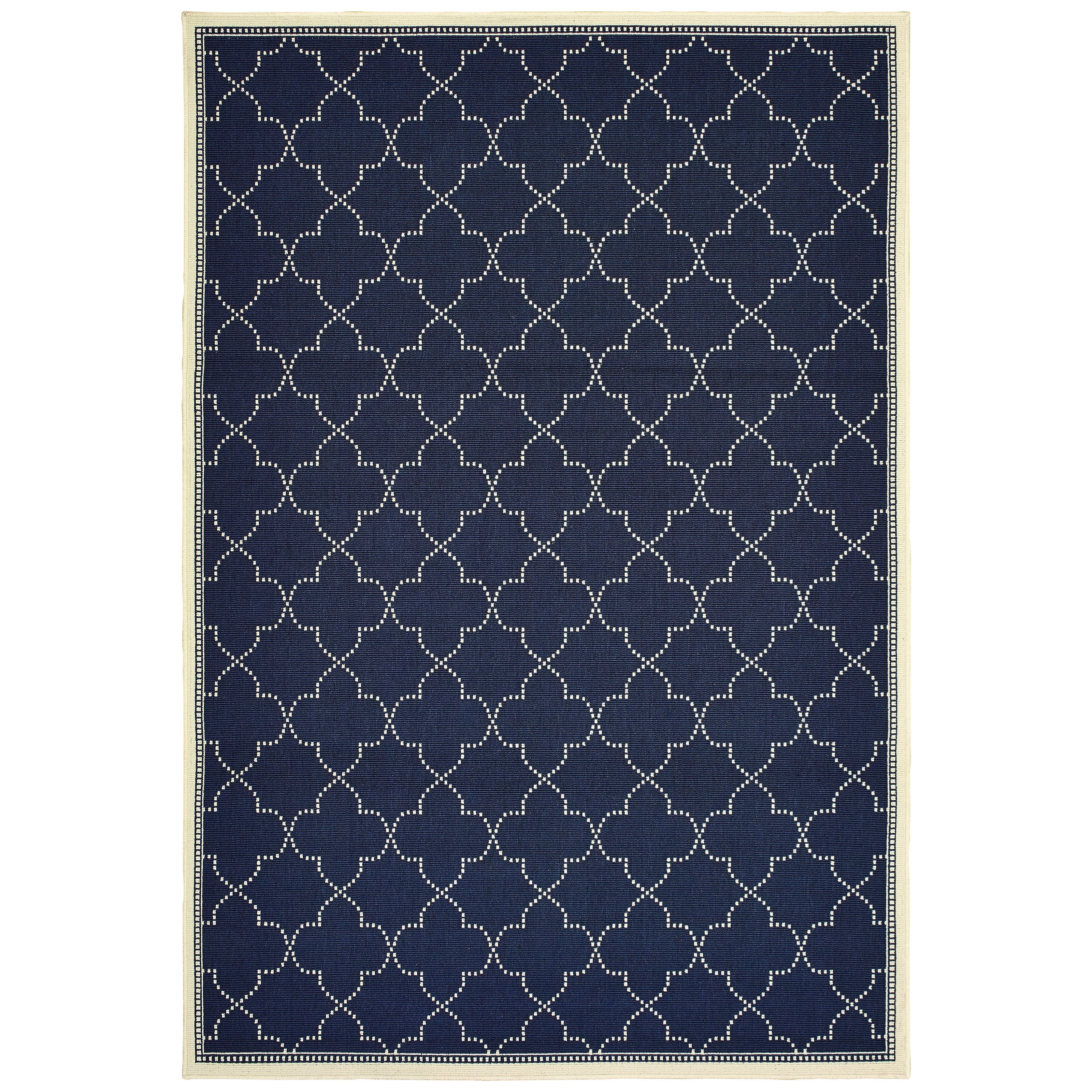 "Marina 3' 7"" X  5' 6"" Rectangle Rug by Oriental Weavers at Dunk & Bright Furniture"