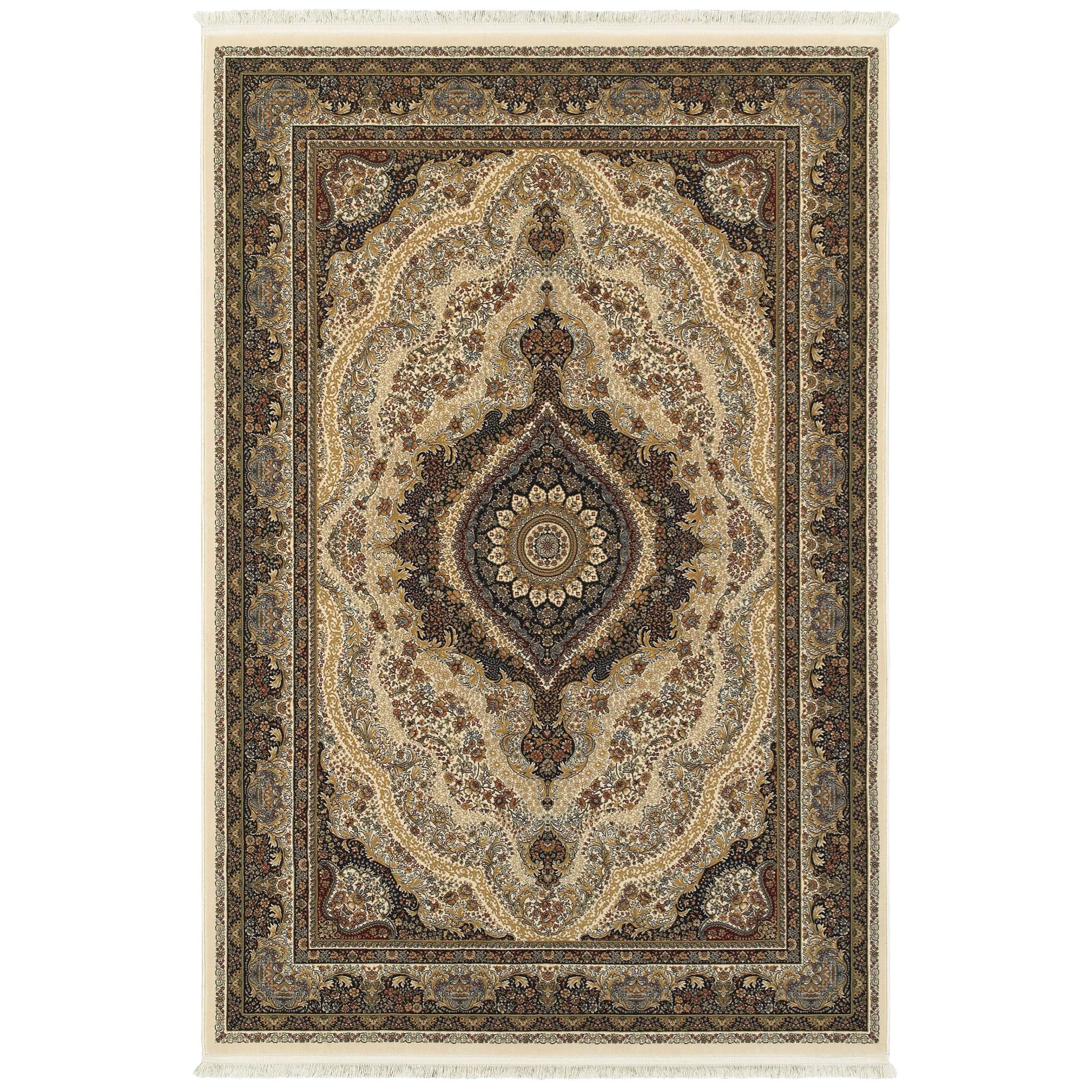 "Masterpiece 7'10"" X 10'10"" Rectangle Rug by Oriental Weavers at Darvin Furniture"